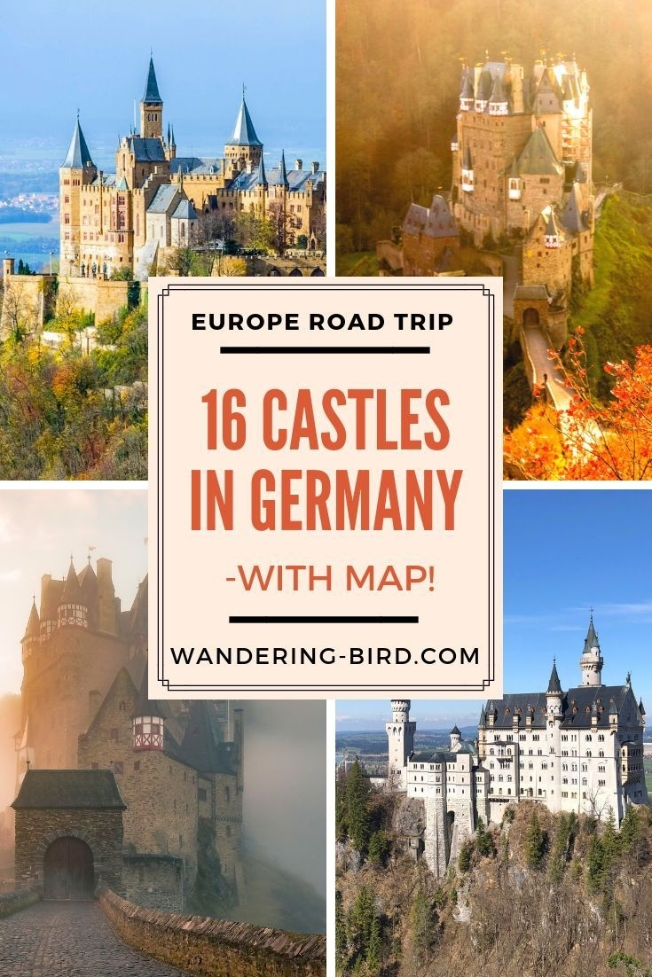 16 Amazing Fairytale Castles In Southern Germany (With Map regarding Castles In Germany Map