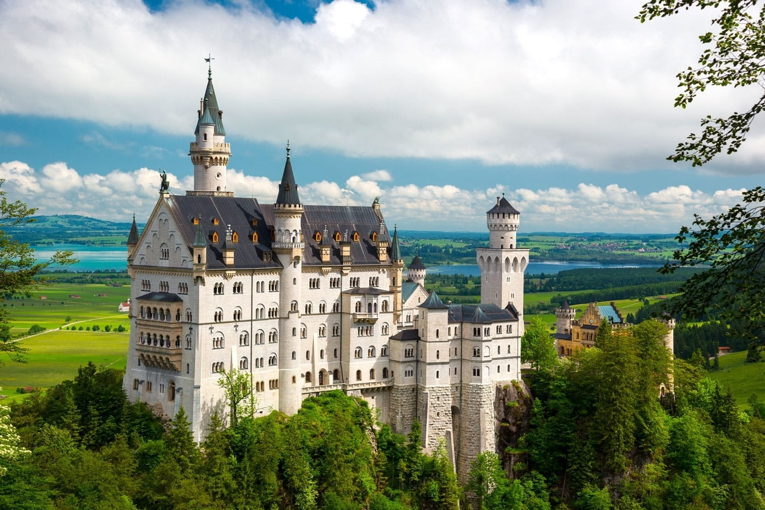 16 Most Beautiful Castles In Germany   Road Affair in Castles In Germany Map