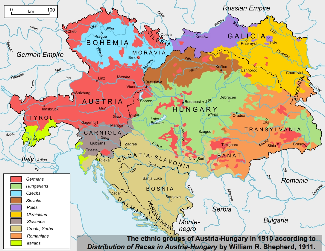 40 Maps That Explain World War I   Vox pertaining to Map Of Germany After World War 1