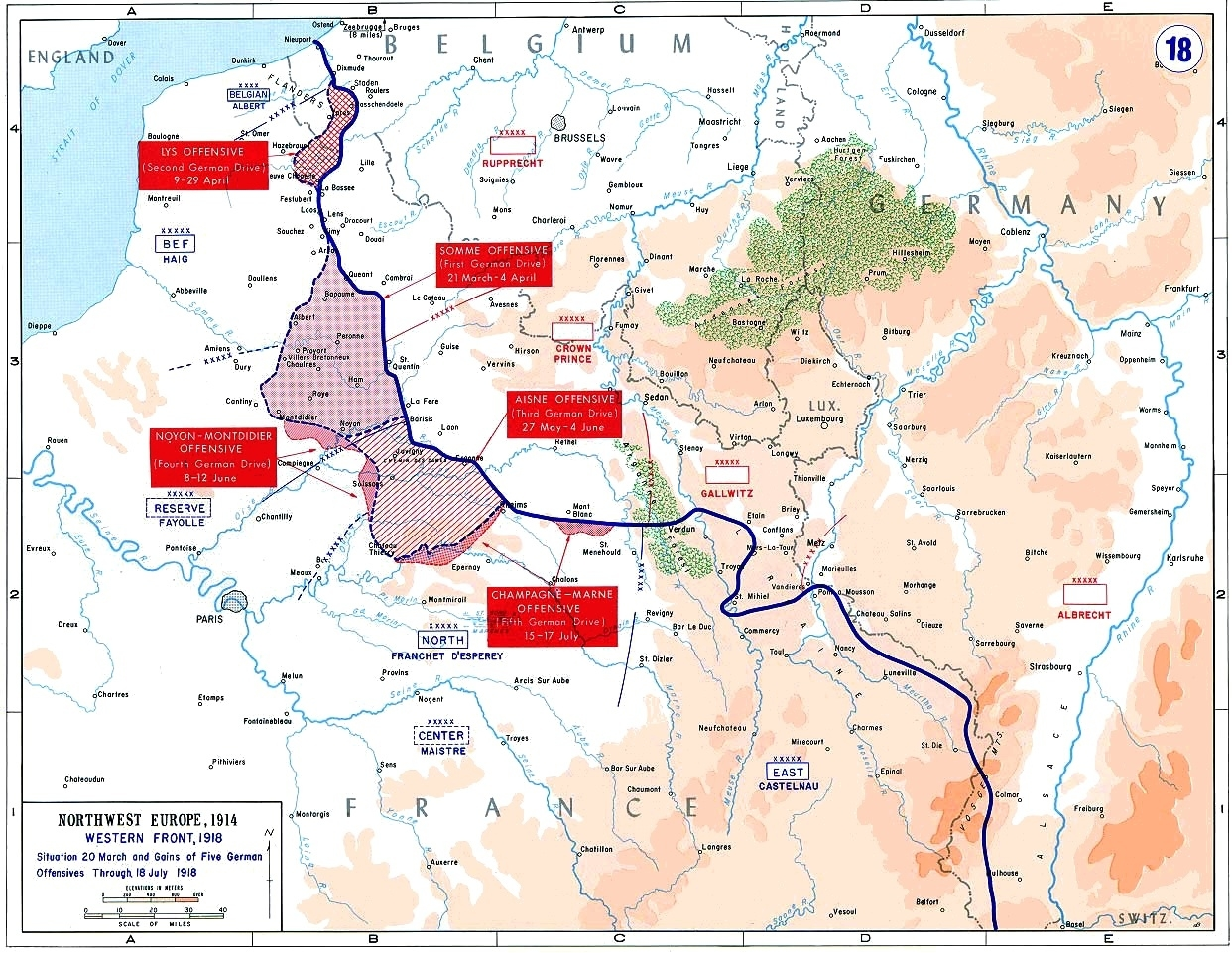 40 Maps That Explain World War I | Vox regarding Map Of Germany During Ww1