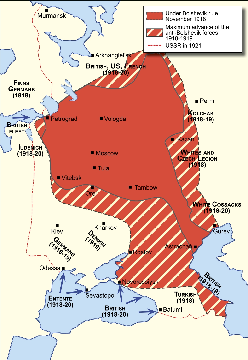 40 Maps That Explain World War I | Vox with Germany Map In World War 1