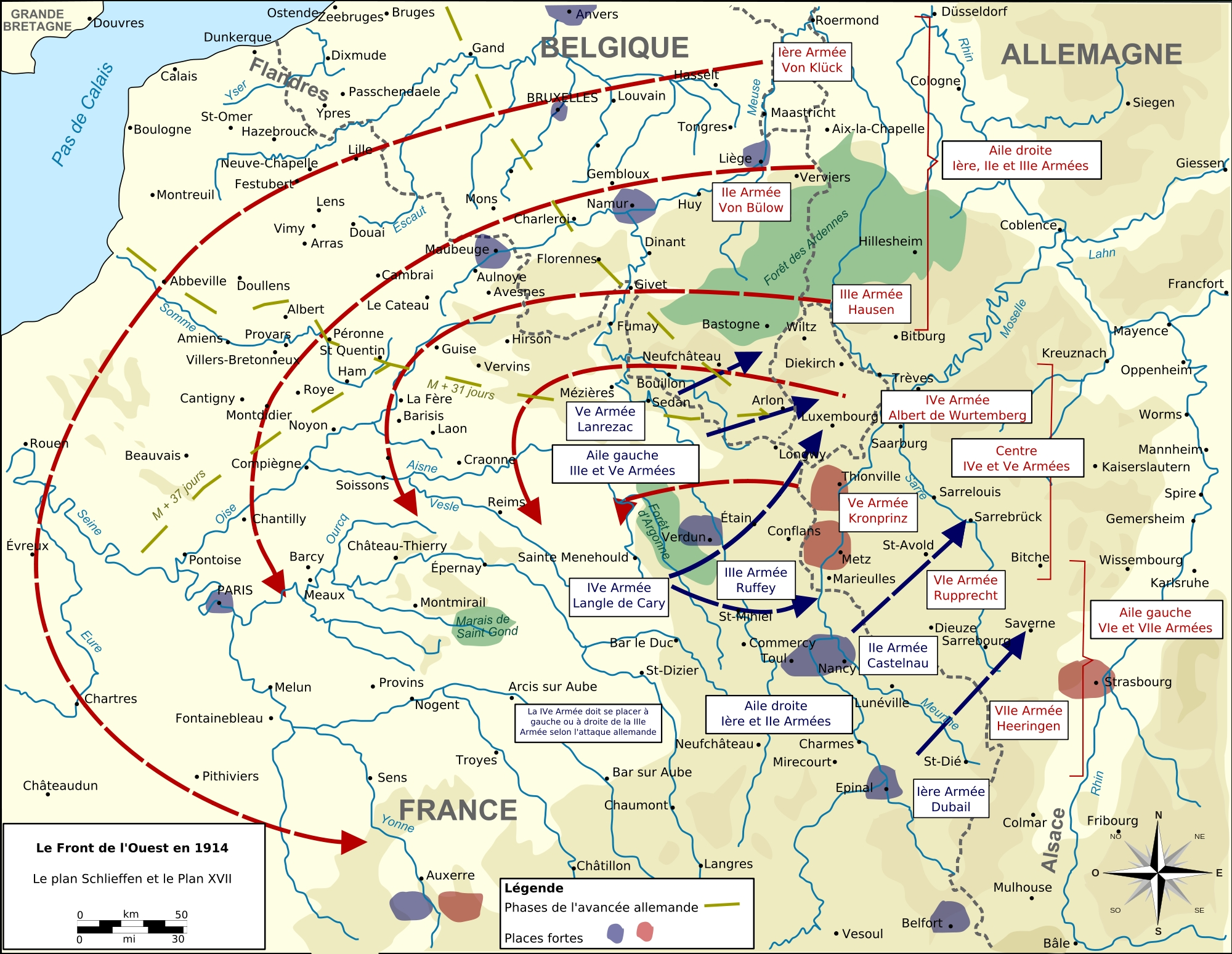 40 Maps That Explain World War I | Vox within Germany Map In World War 1