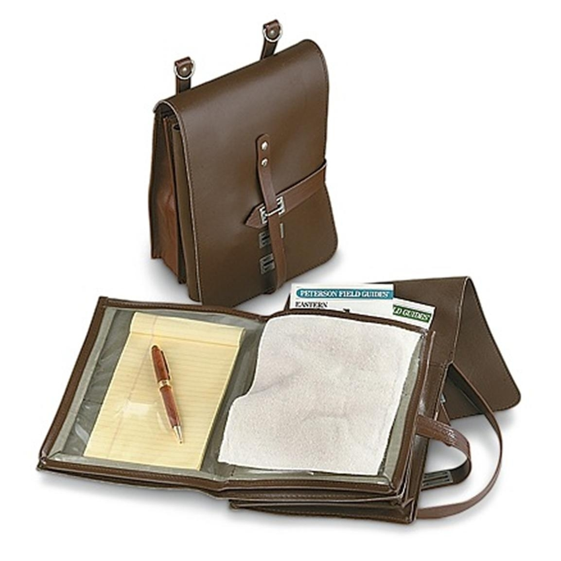 6 New East German Military Map Cases, Brown - 192154, Map Cases At with East German Map Bag