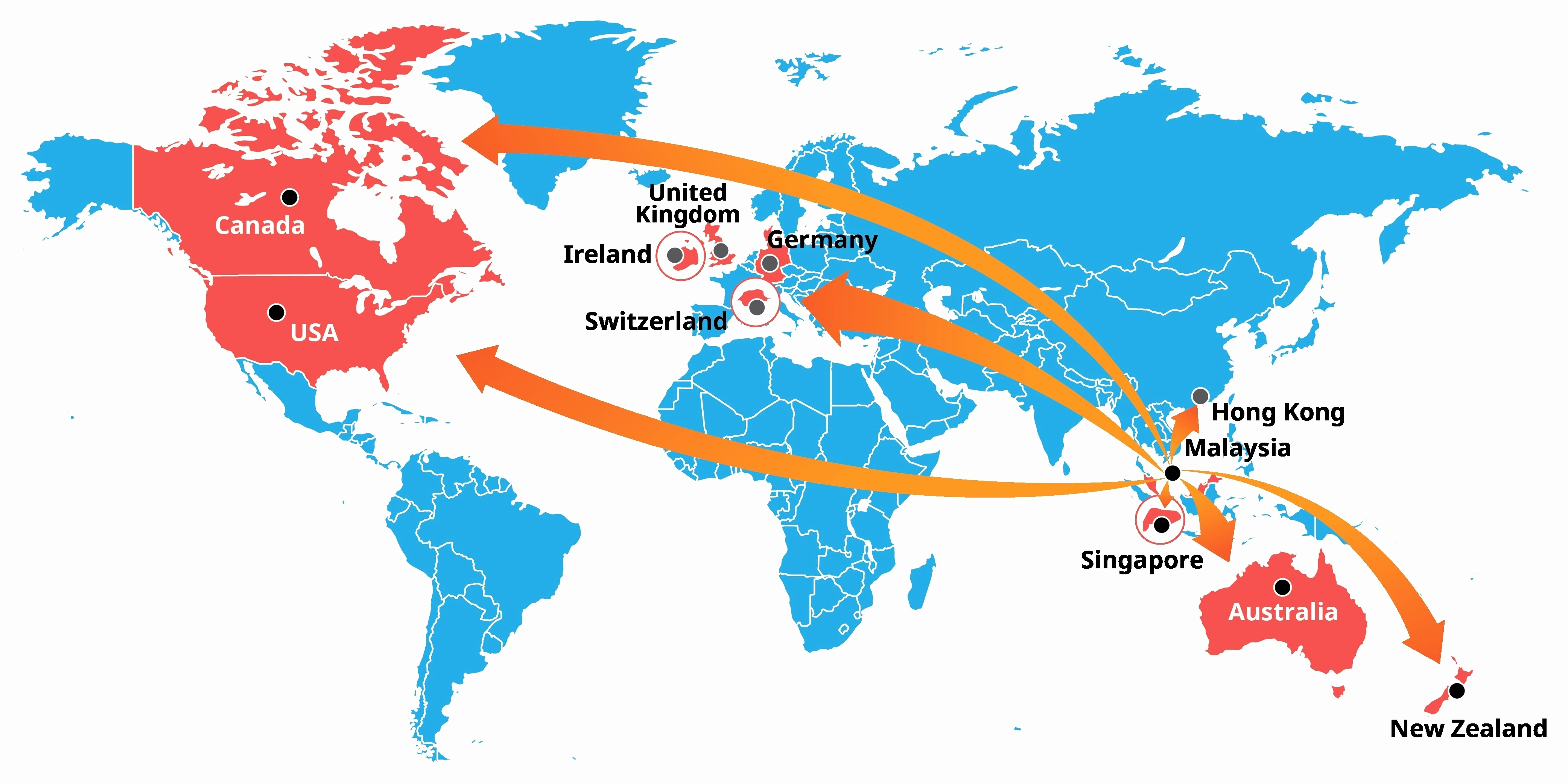 All Inclusive Singapore Location On The World Map World Map With with regard to Location Of Germany In World Map