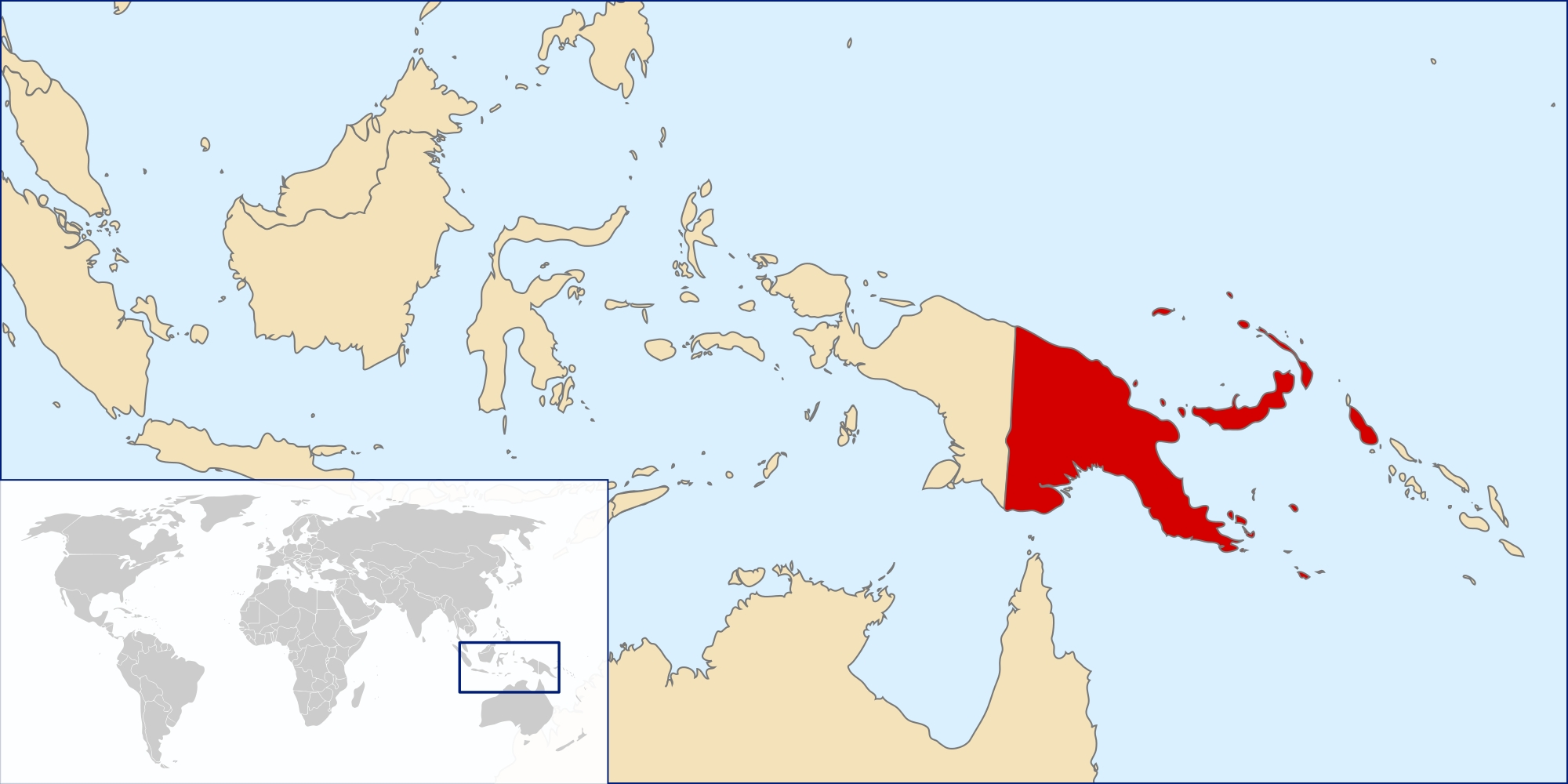 Atlas Of Papua New Guinea - Wikimedia Commons with German New Guinea Map