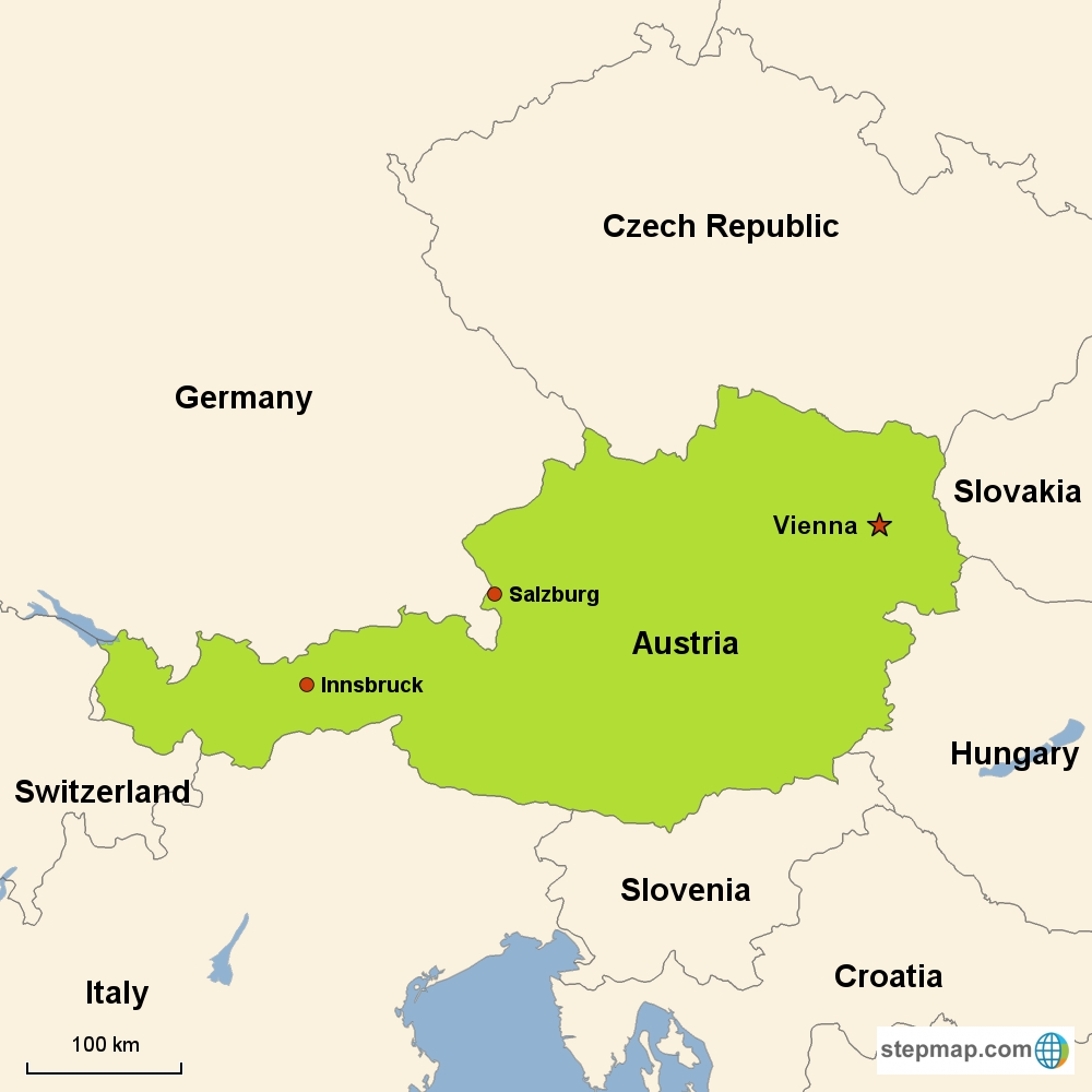 Austria Vacations With Airfare   Trip To Austria From Go-Today inside Map Of Germany Austria Hungary Czech Republic