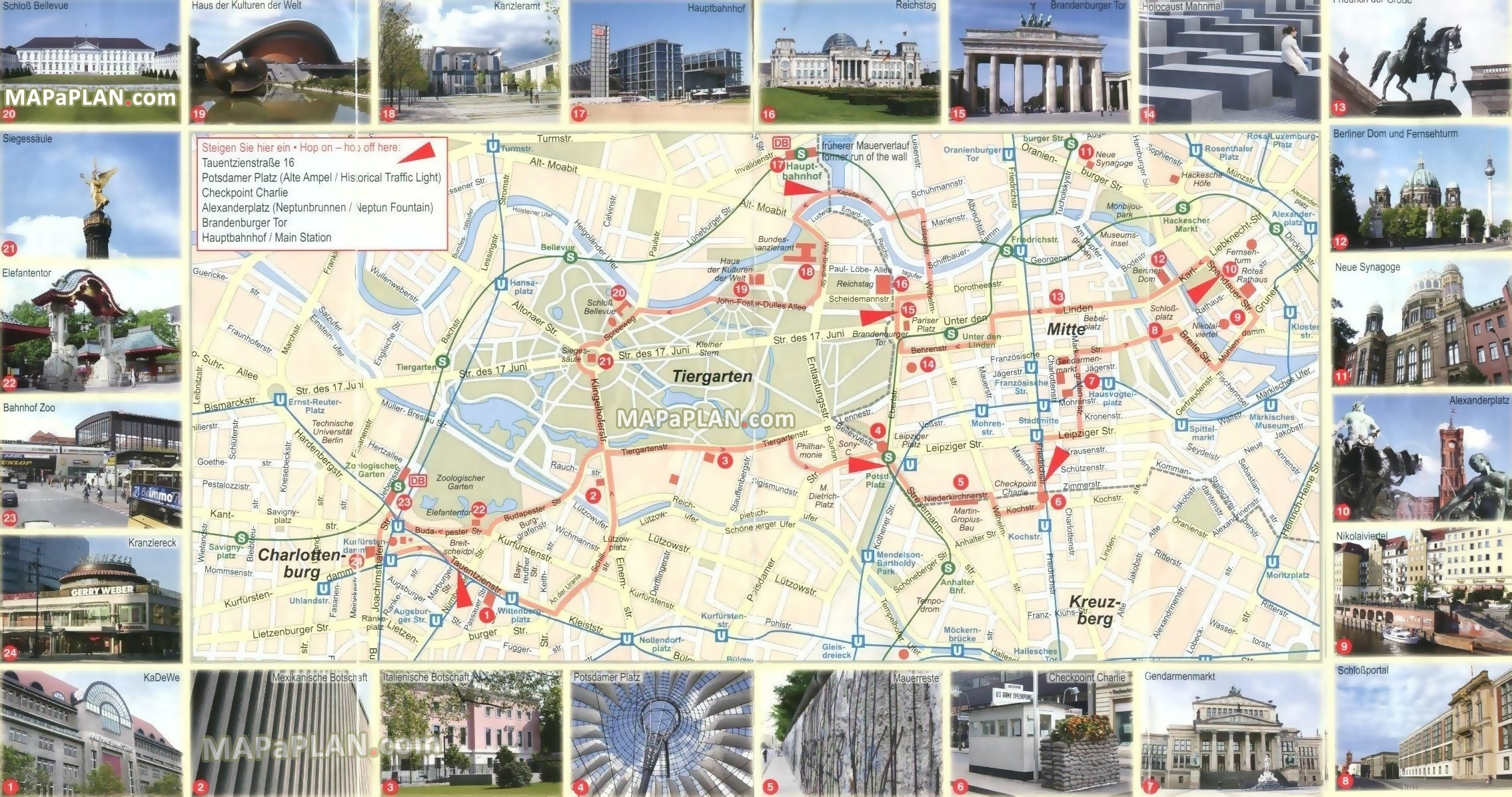Berlin Maps - Top Tourist Attractions - Free, Printable City Street Map with regard to Berlin Germany Attractions Map