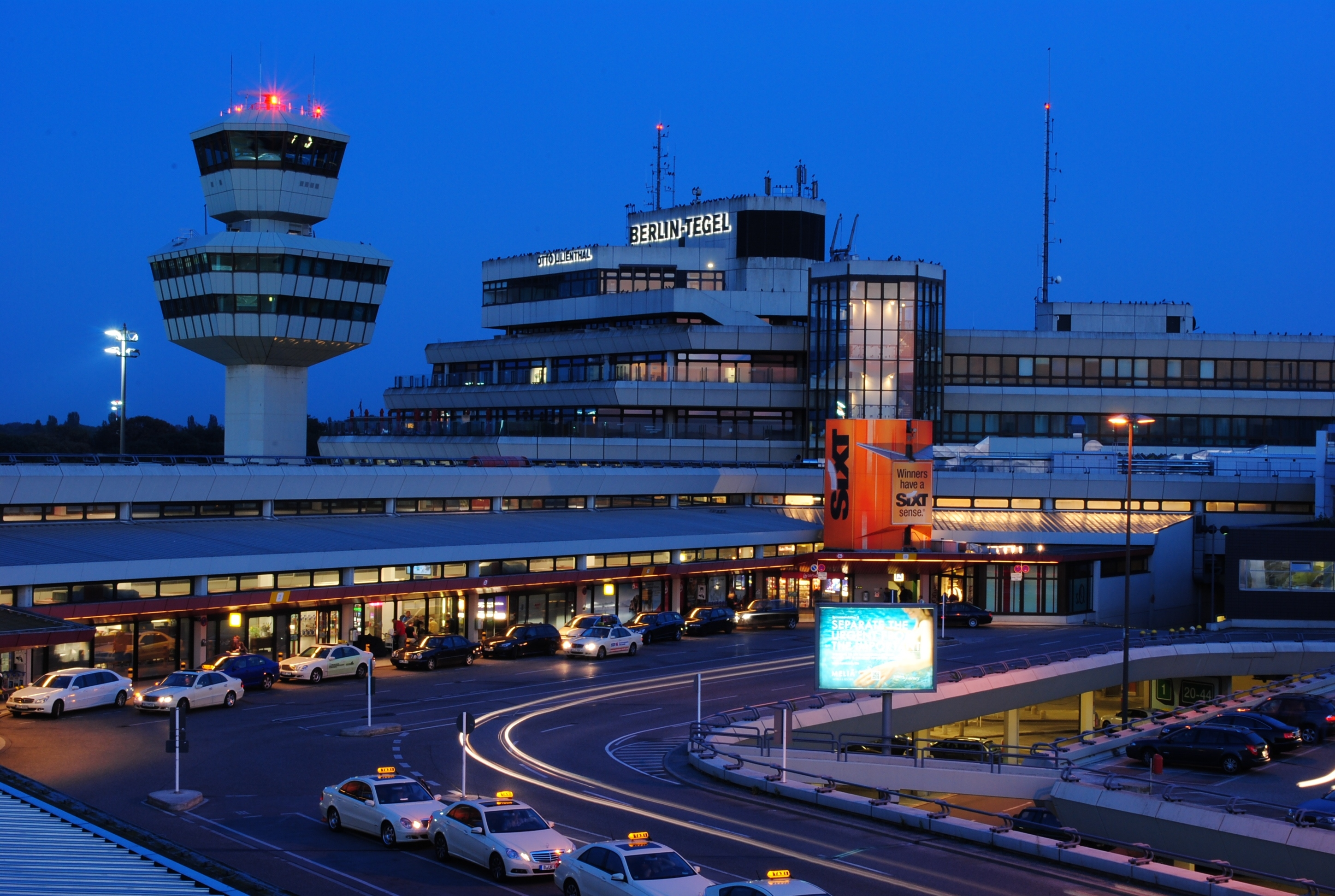 Berlin Tegel Airport - Wikipedia for Airports In Berlin Germany Map
