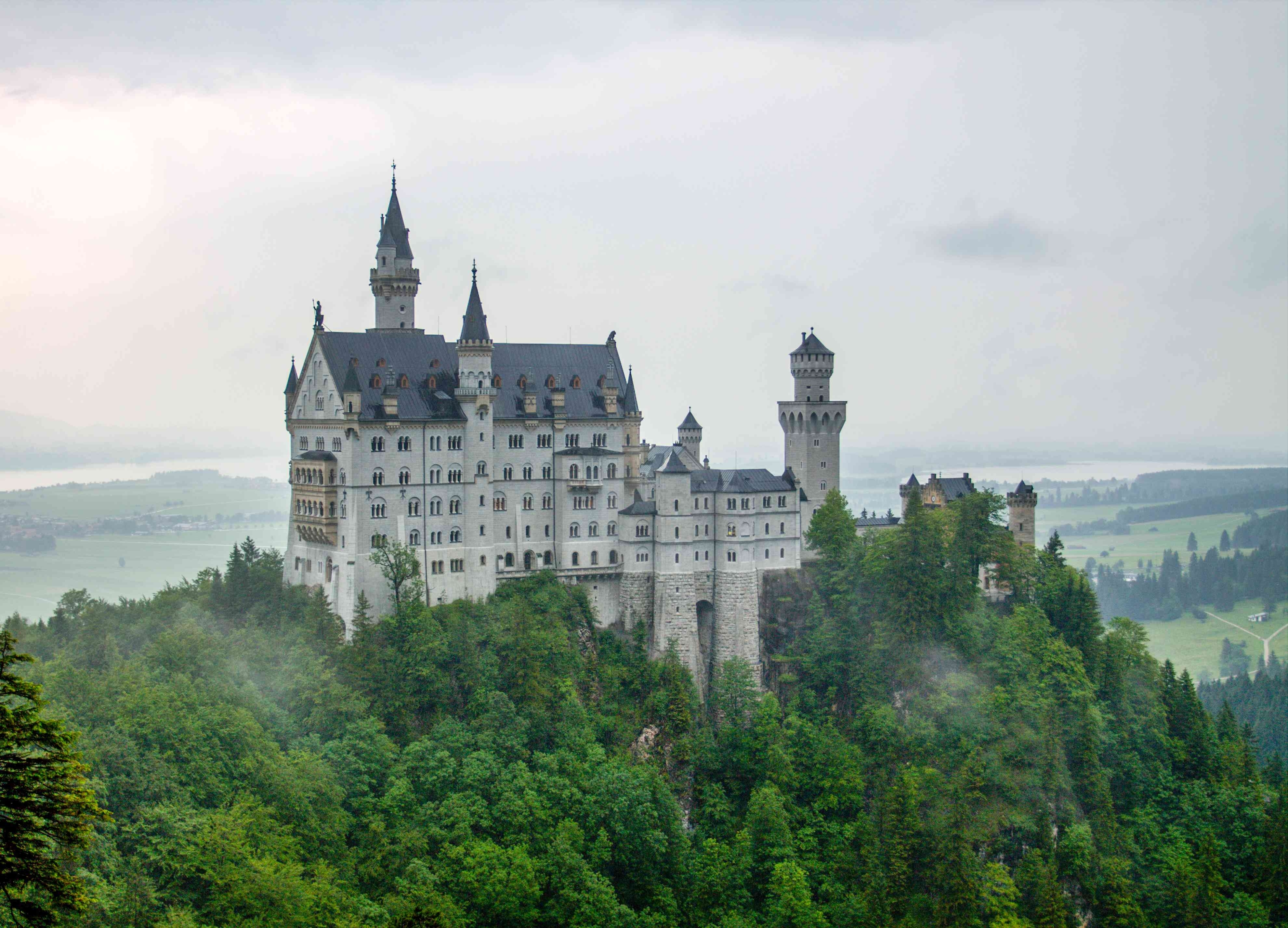 Best Places To Photograph Neuschwanstein Castle pertaining to Ludwig Castles Germany Map