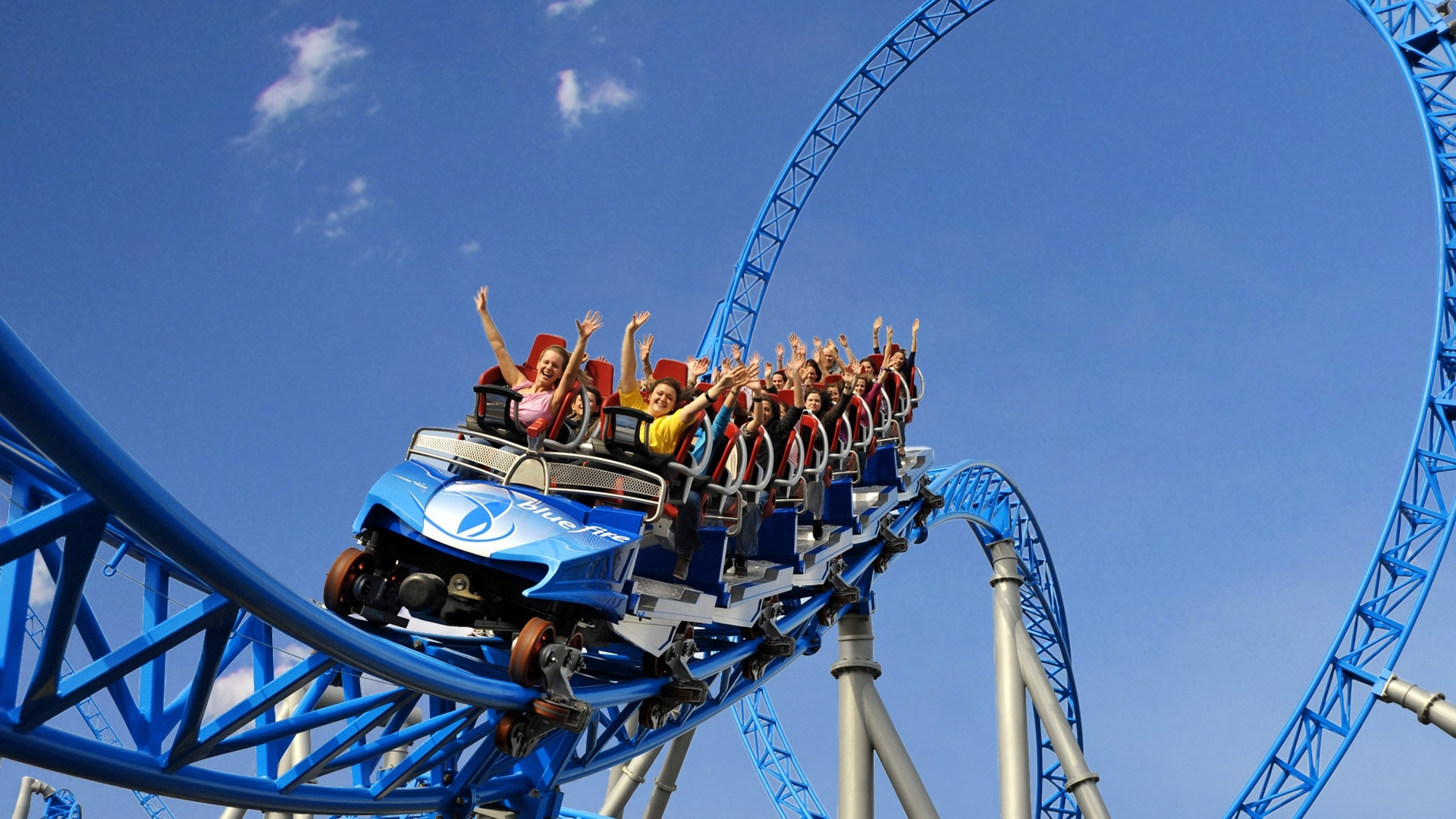 Blue Fire Megacoaster Poweredgazprom - Europa-Park – One Of The intended for Map Of Europa Park Germany