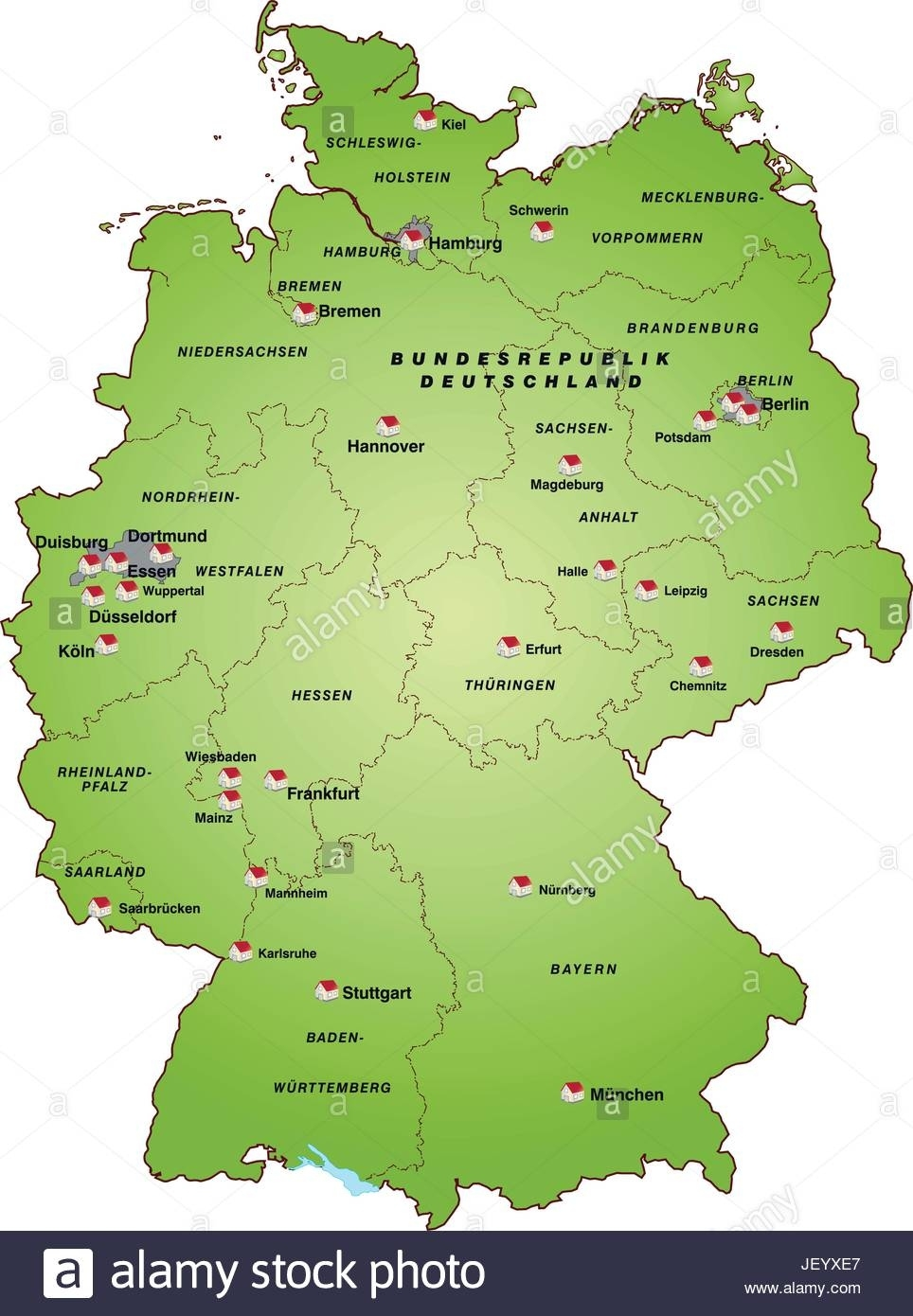 Card, State, Atlas, Map Of The World, Map, Map Of Germany, Germany intended for World Map Of Germany And Surrounding Countries