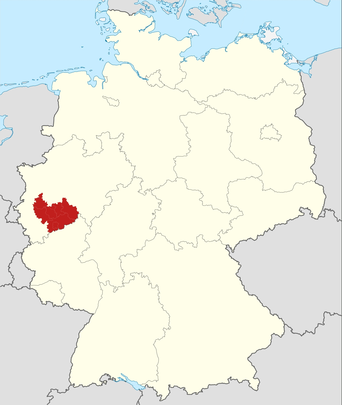 Cologne Bonn Region - Wikipedia in Cologne Germany Map