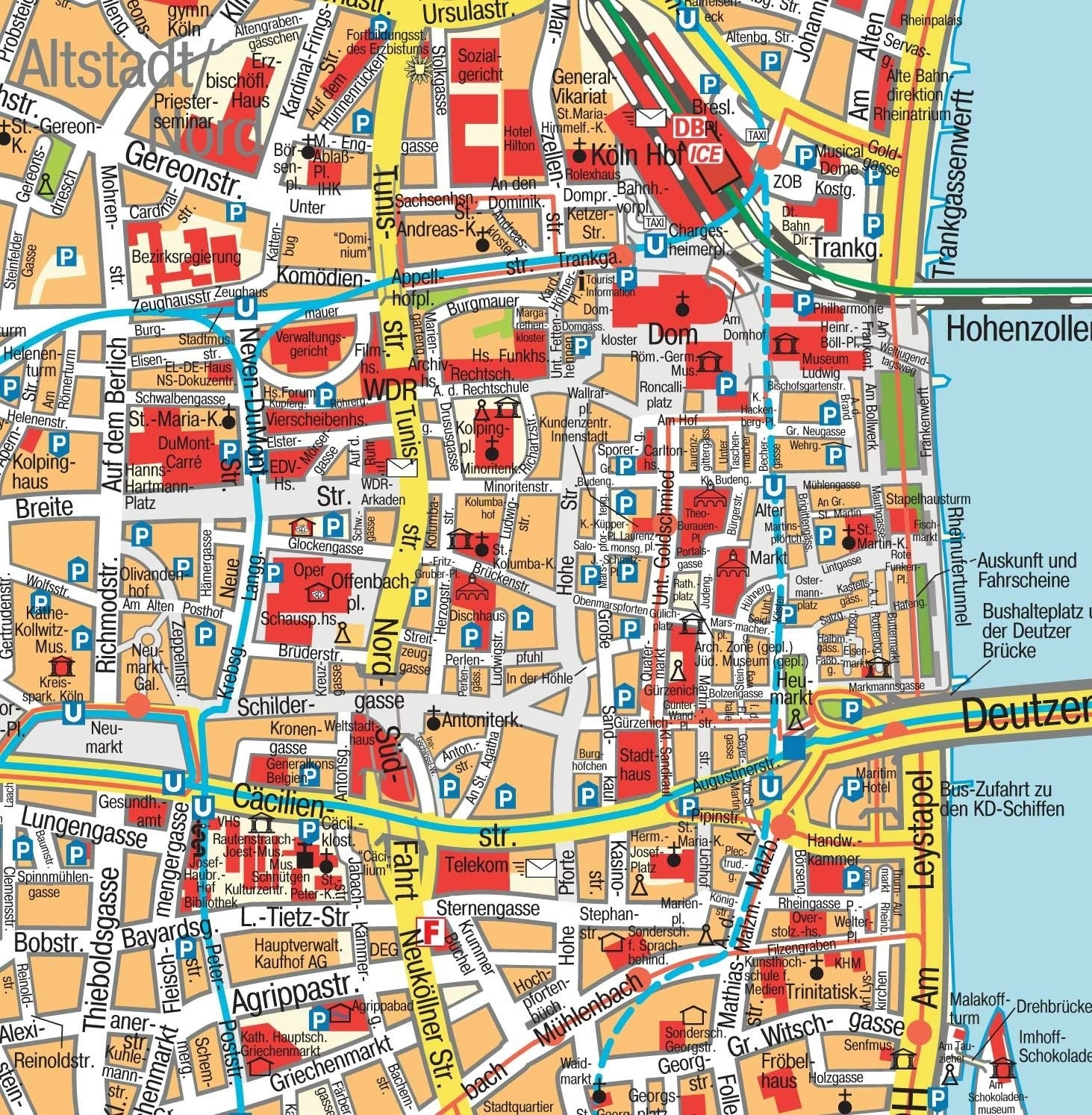 Cologne Germany Map | D1Softball pertaining to Street Map Cologne Germany