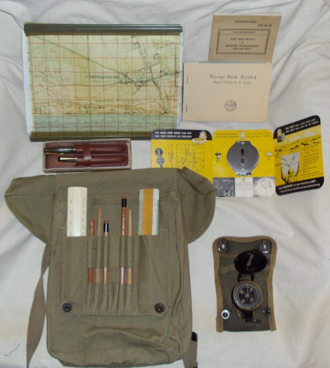 Contents Of Wwii Map Case? - Craig Pickrall Field & Personal Gear with Ww2 German Map Case Contents