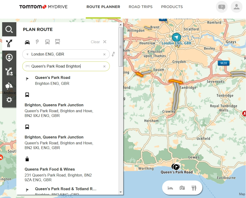 Creating Routes On Mydrive And Sharing Them On Road Trips within Tomtom Germany Map Download