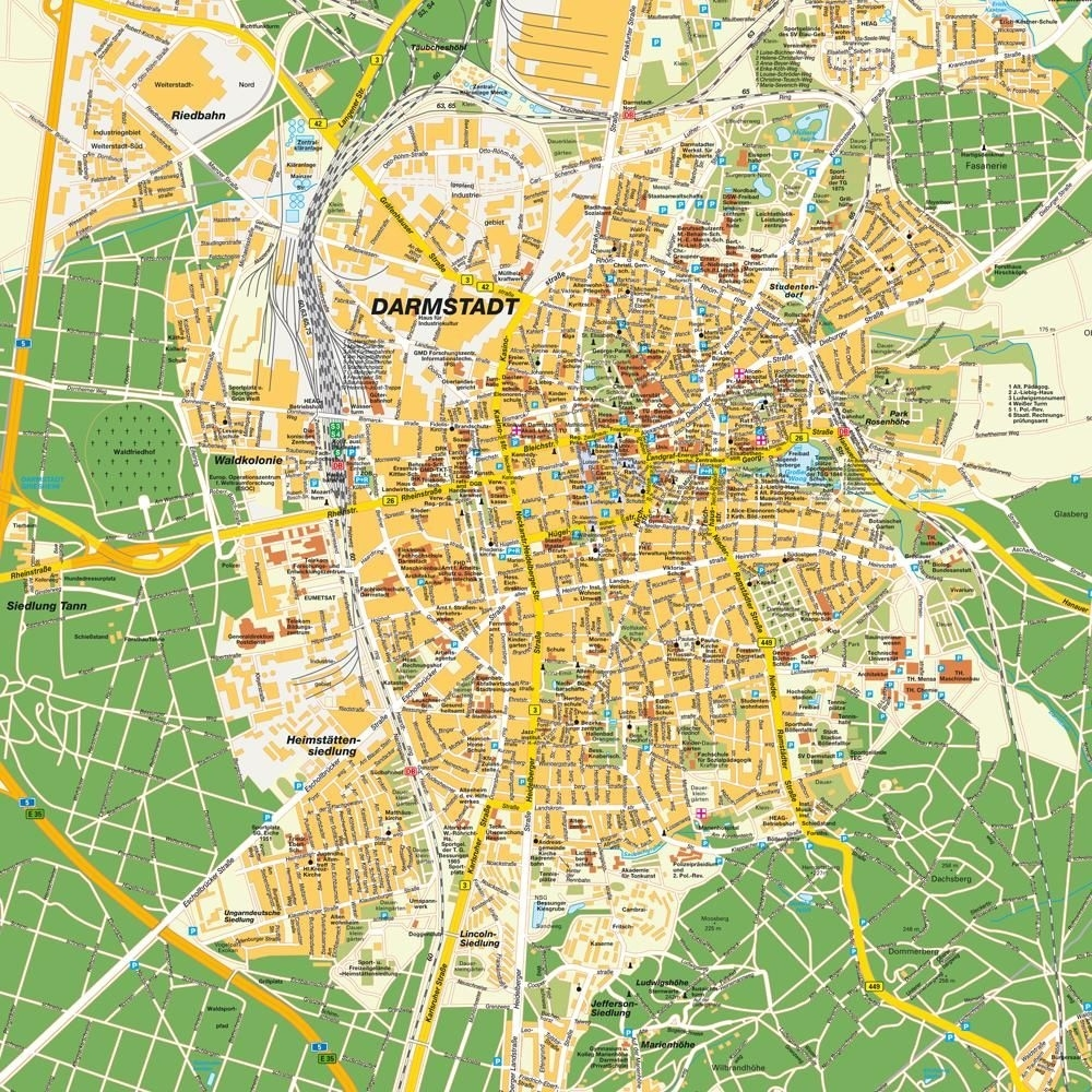 Darmstadt, Germany | Places I've Lived | Darmstadt, Germany Travel pertaining to Darmstadt Hessen Germany Map
