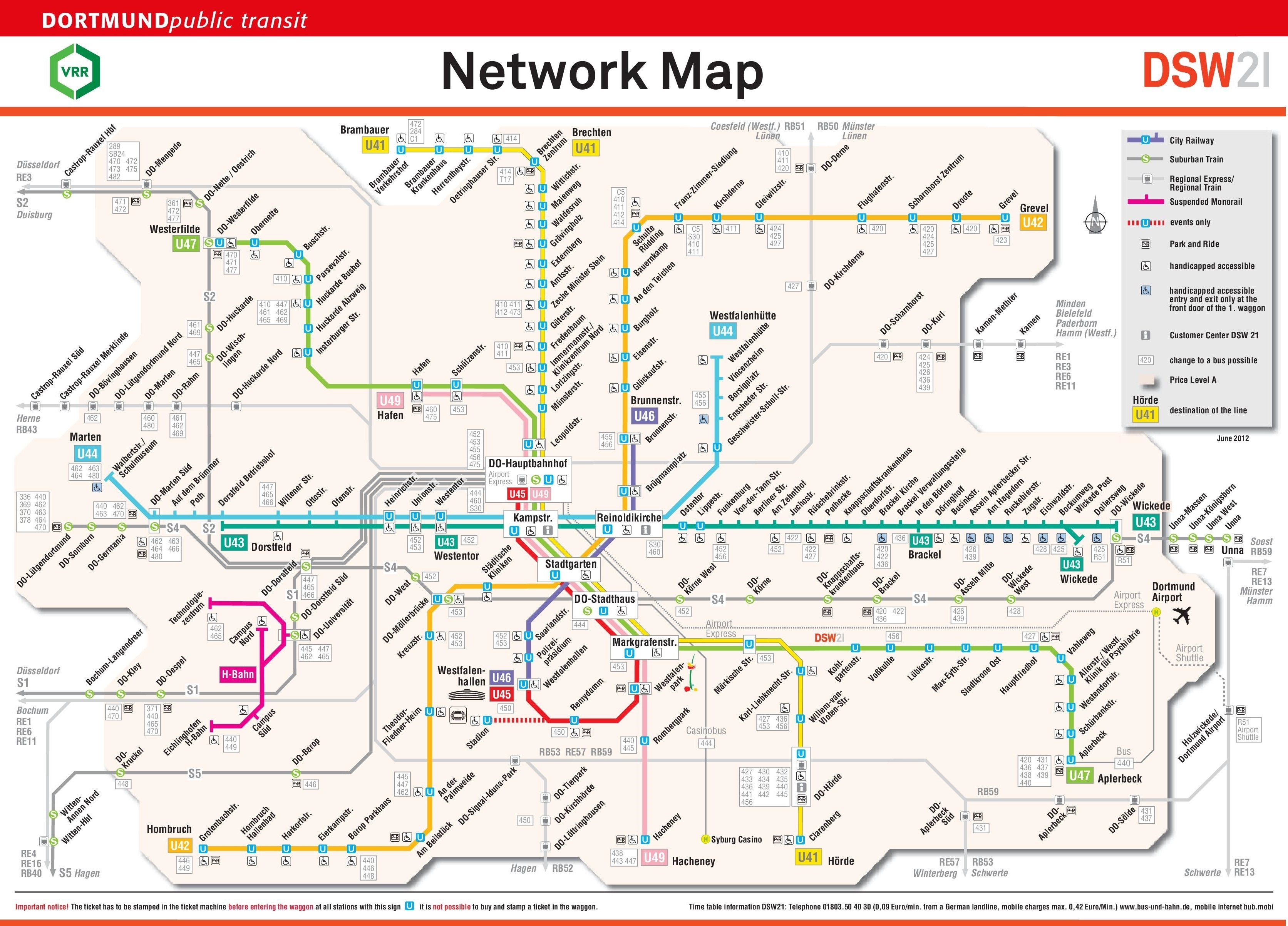 Dortmund Rail Map with regard to Where Is Dortmund Germany On The Map
