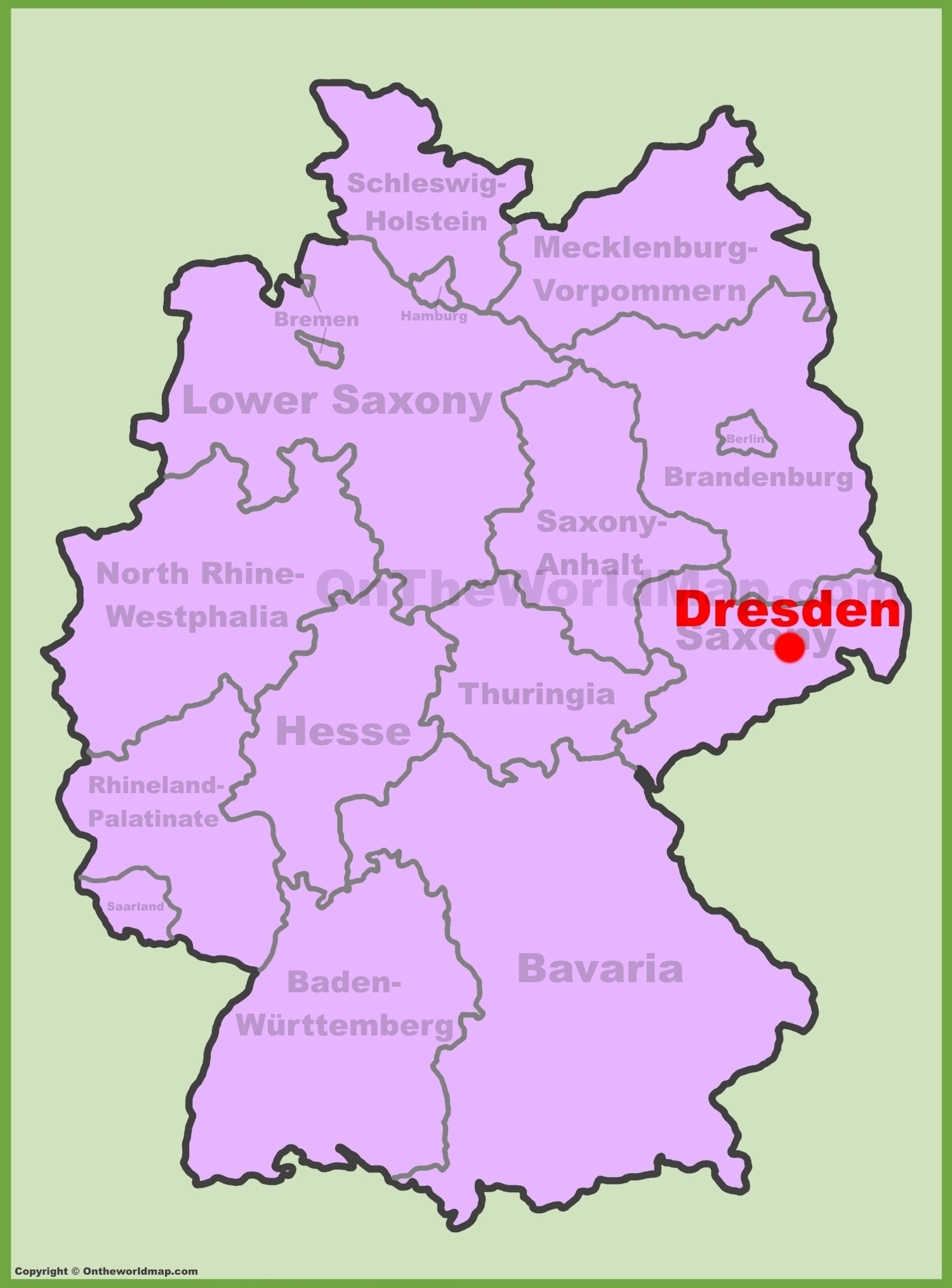 Dresden Maps | Germany | Maps Of Dresden within Dresden Germany On A Map