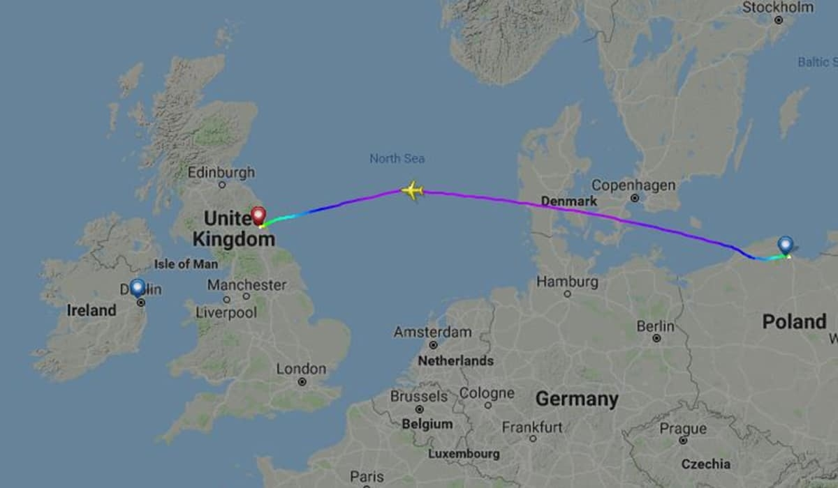 Dublin-Bound Ryanair Flight Forced To Divert After Mid-Air Emergency for Ryanair Airports Germany Map