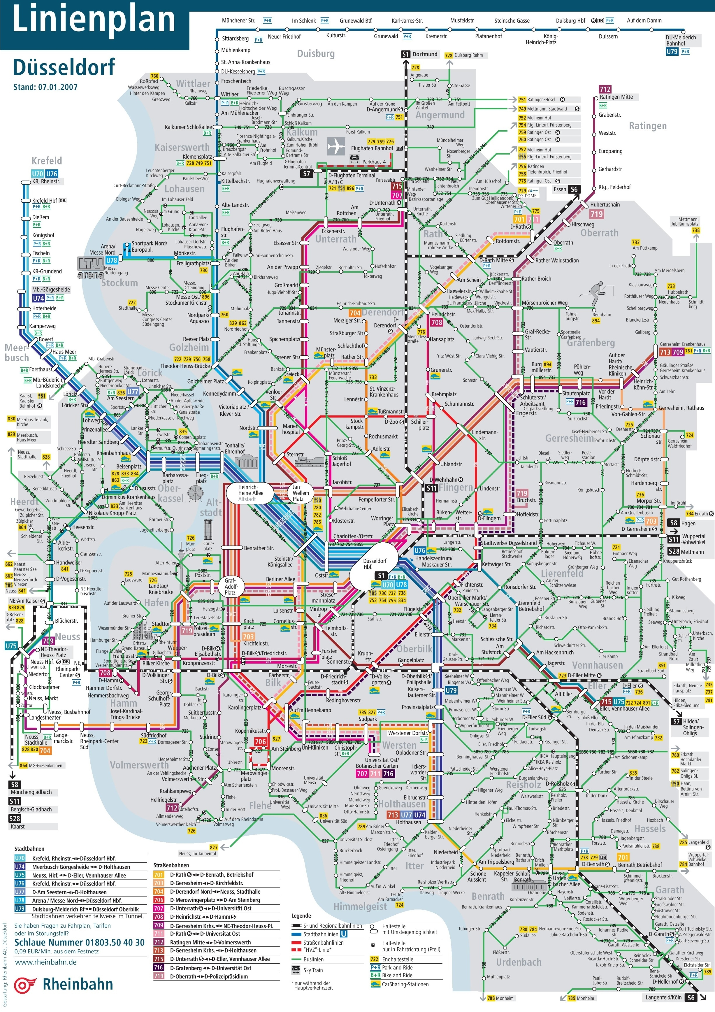 Düsseldorf Transport Map with regard to Where Is Dusseldorf Germany On The Map