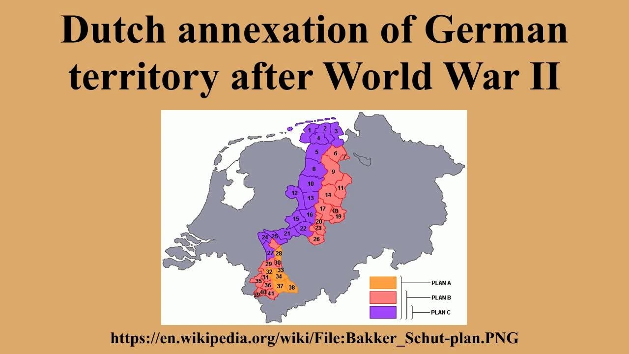 Dutch Annexation Of German Territory After World War Ii with German Territory Before And After Ww2