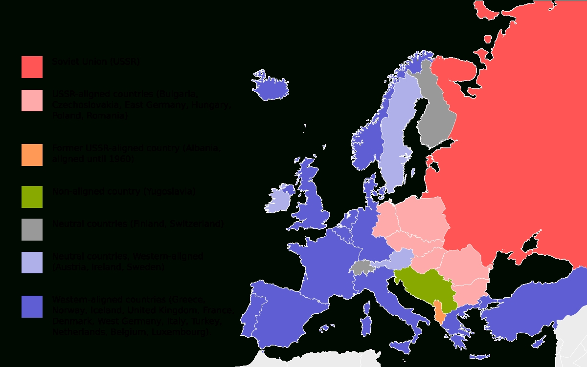 Eastern Bloc - Wikipedia with regard to Map Of East Germany During Cold War