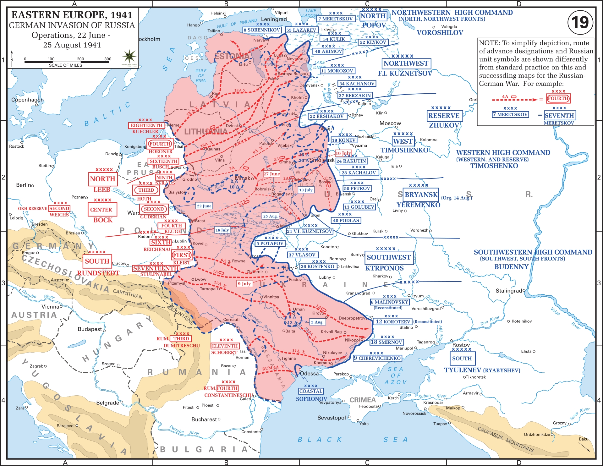 Eastern Front Maps Of World War Ii - Inflab - Medium within Map Of Germany During Ww2