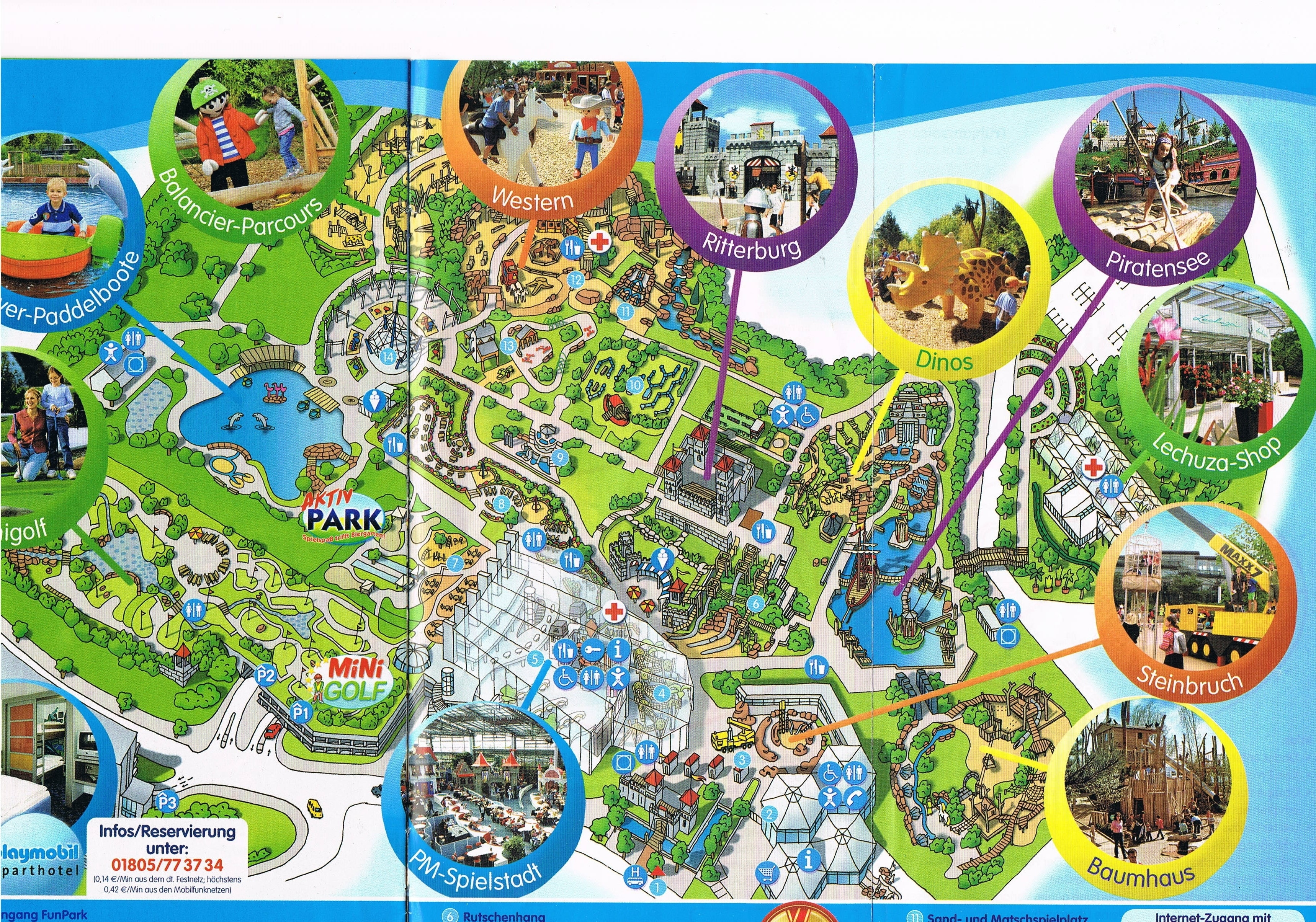 Entertainment Parks In Germany #1 - Nadja's Germany pertaining to Europa Park Germany Map Location