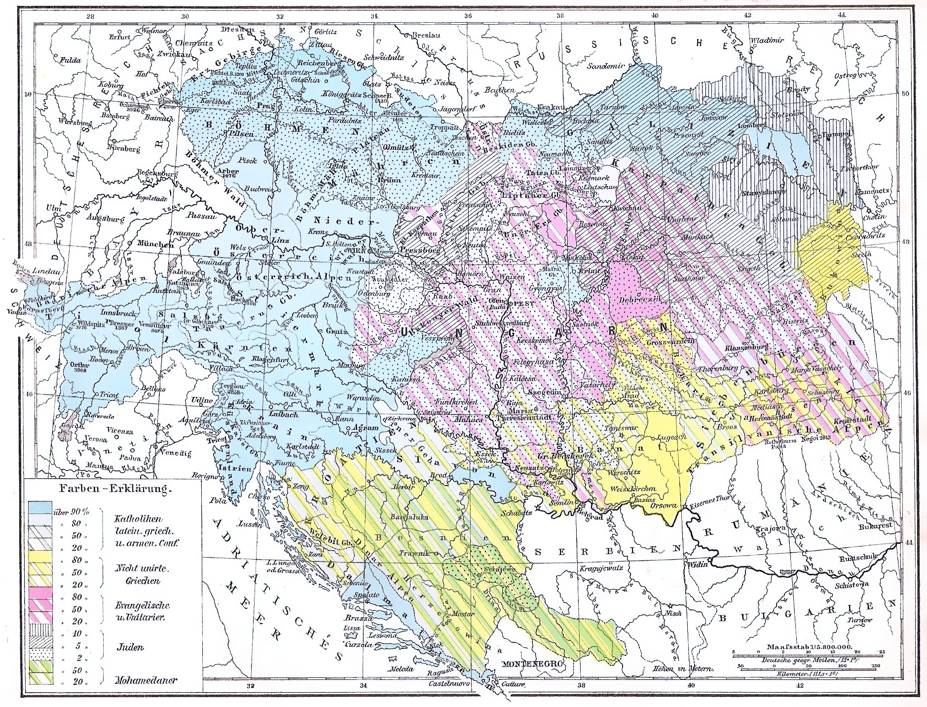 Ethnic And Religious Composition Of Austria-Hungary - Wikipedia throughout Map Of Germany Austria And Hungary