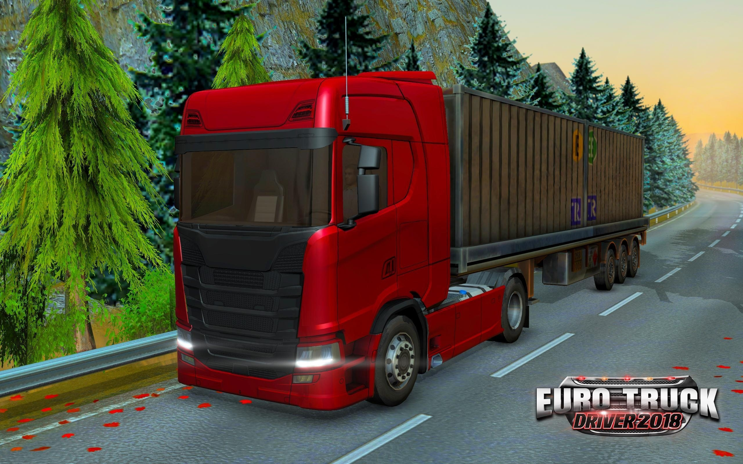Euro Truck Driver 2018 For Android - Apk Download with German Truck Simulator Europe Map Download