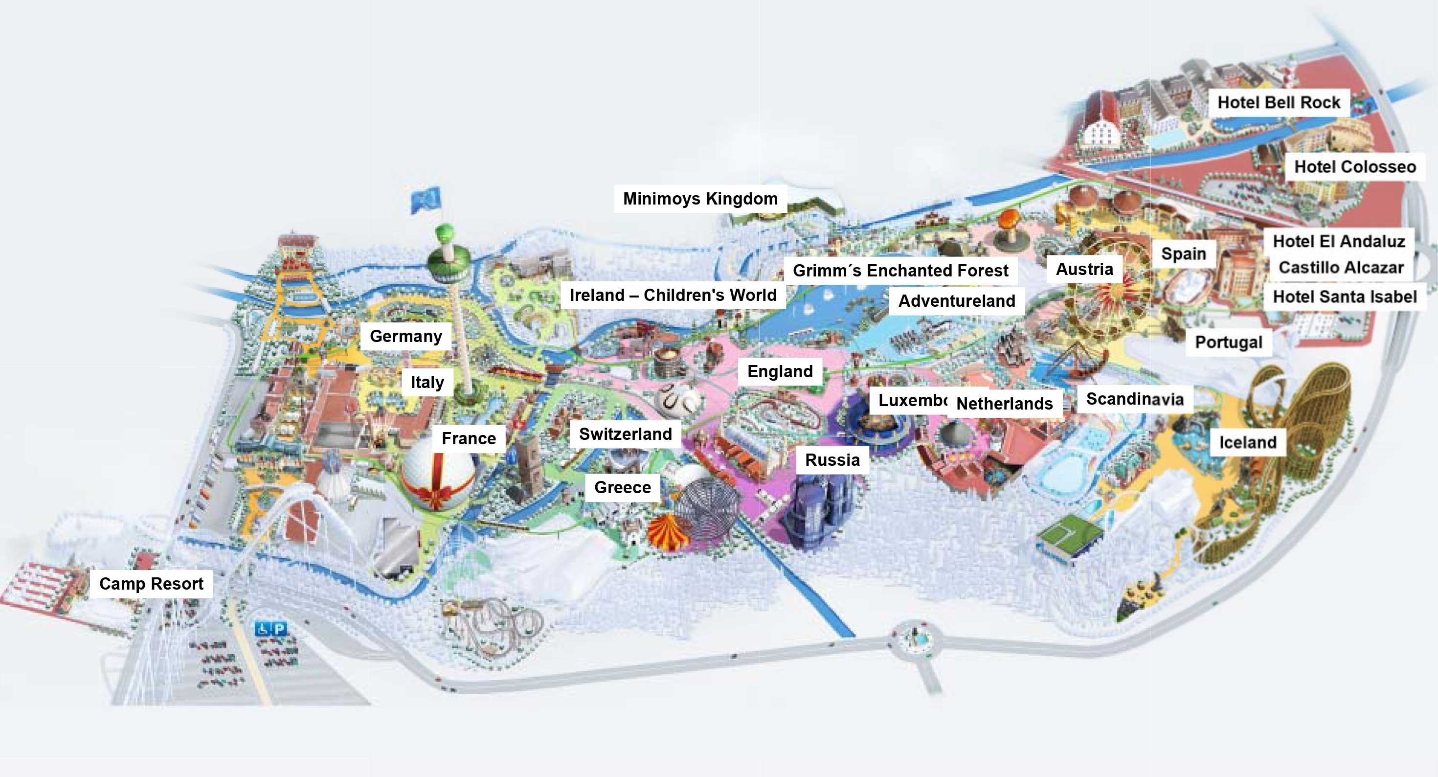 Europa-Park Germany Map Related Keywords & Suggestions - Europa-Park with regard to Europa Park In Germany Map
