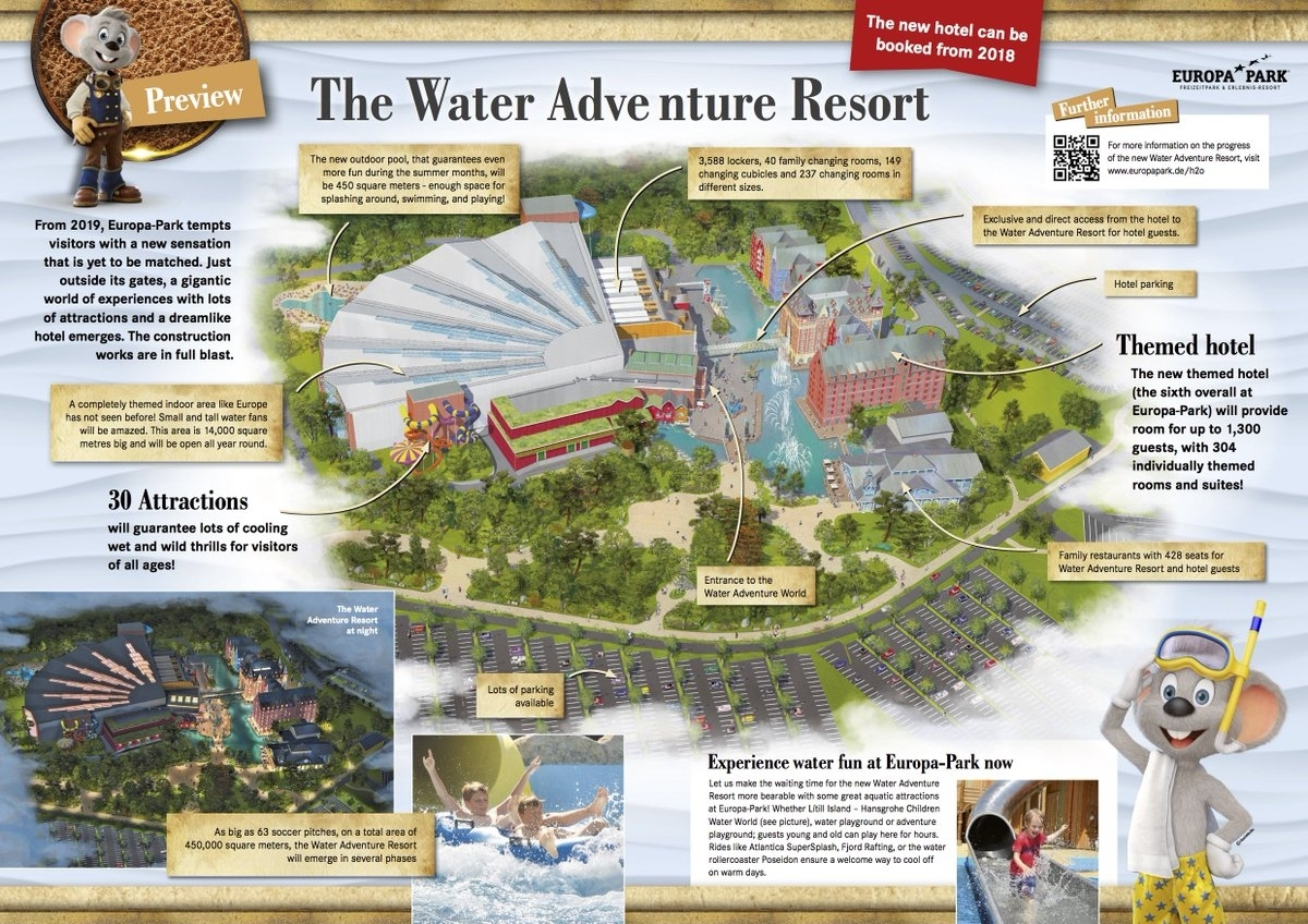"""Europa-Park Uk On Twitter: """"sneak Peek At The New Water Adventure intended for Europa Park Rust Germany Map"""