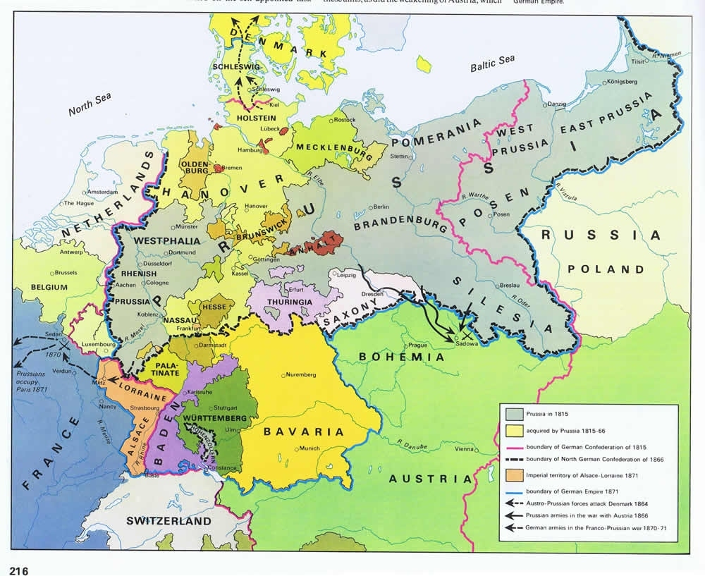 Faith, Nationalism, And National Unification throughout Map Of German States Before Unification