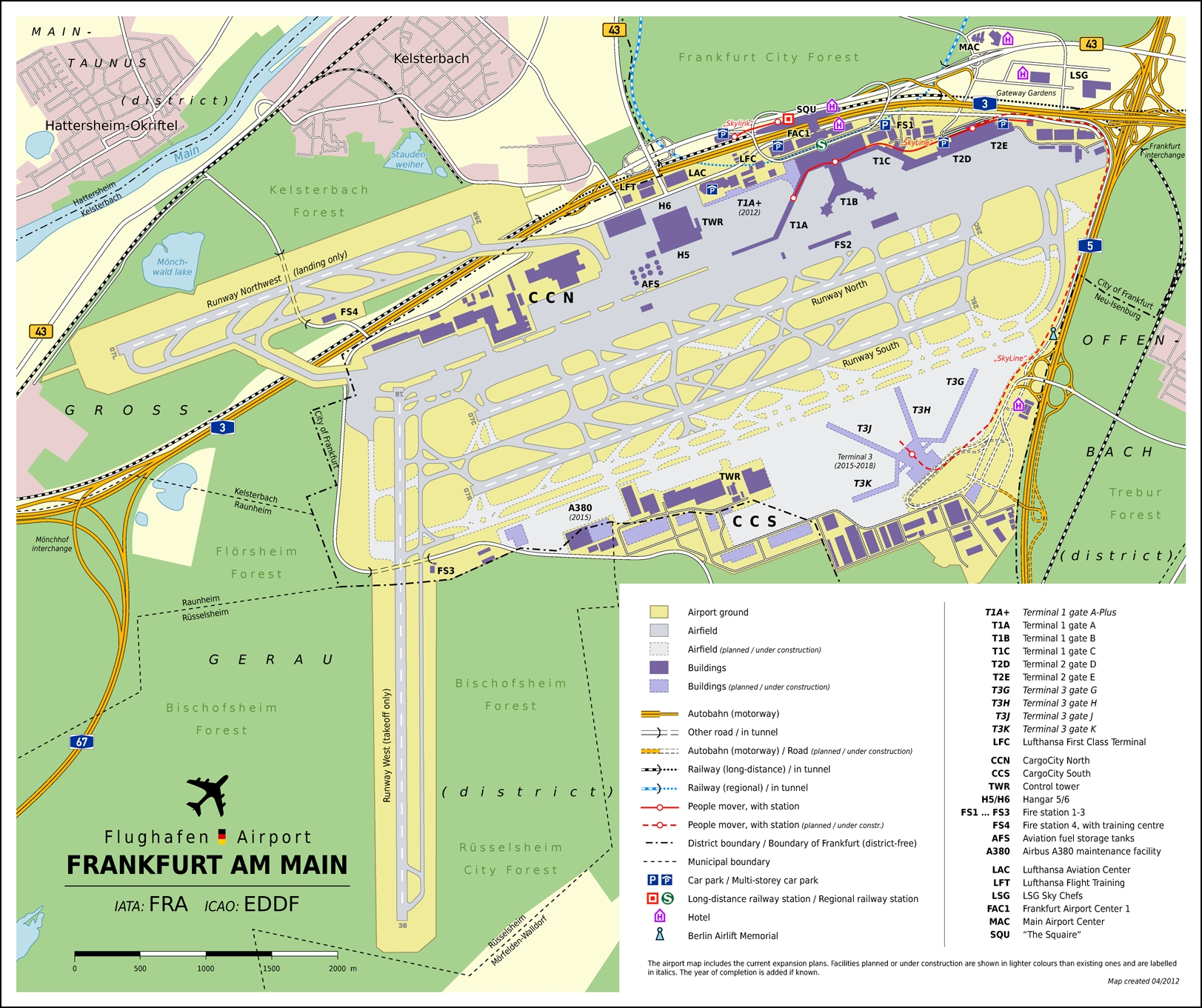 Frankfurt Airport Map Have You Been Here?   Airports   Frankfurt throughout Frankfurt Airport Map Germany