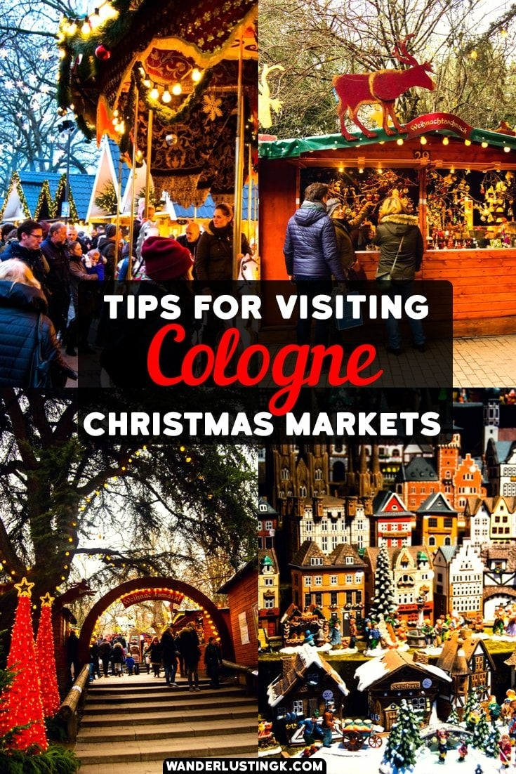 Free Walking Tour Of The Cologne Christmas Markets With Map | Europe with Map Of German Christmas Markets