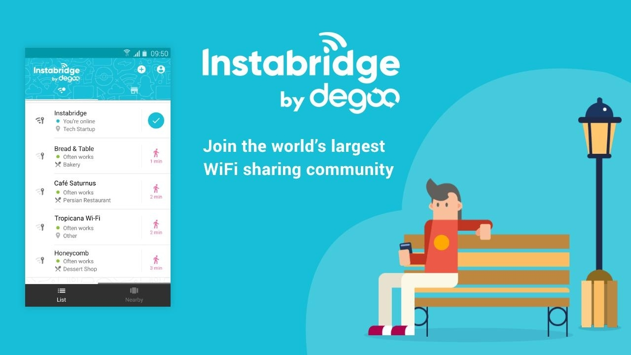 Free Wifi Passwords And Hotspotsinstabridge For Android - Apk throughout Free Wifi Map Germany