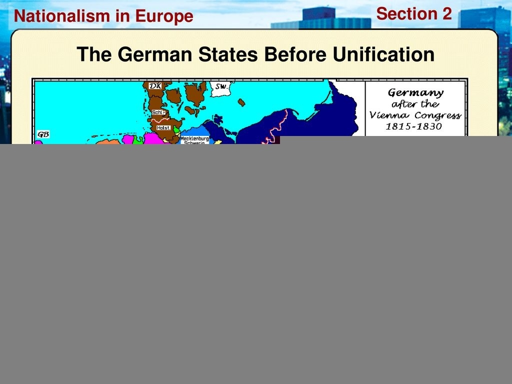 German Unification Ppt Download throughout Map Of German States Before Unification