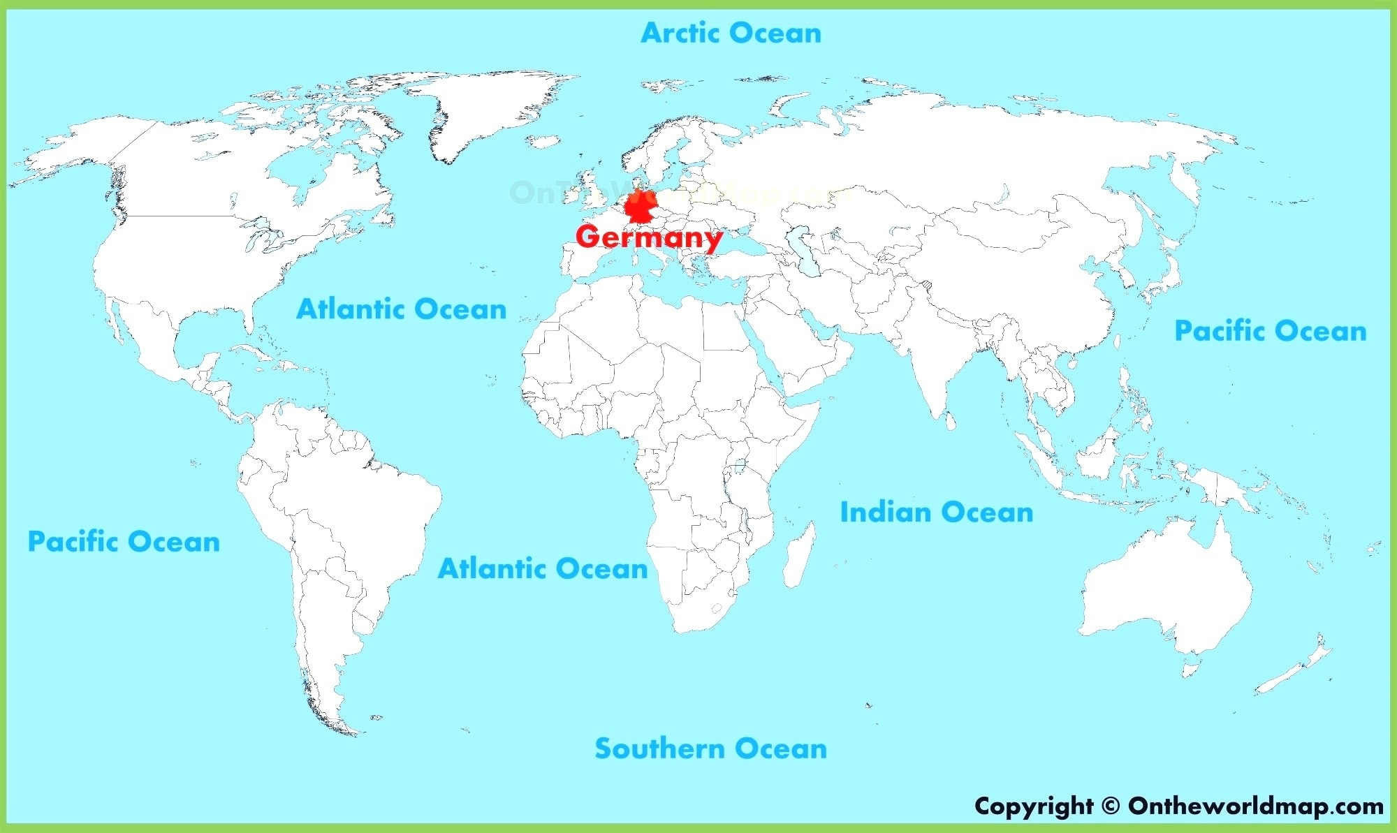 German World Map Maps Germany 96 Best Beautiful At On The Of And regarding German Map In World