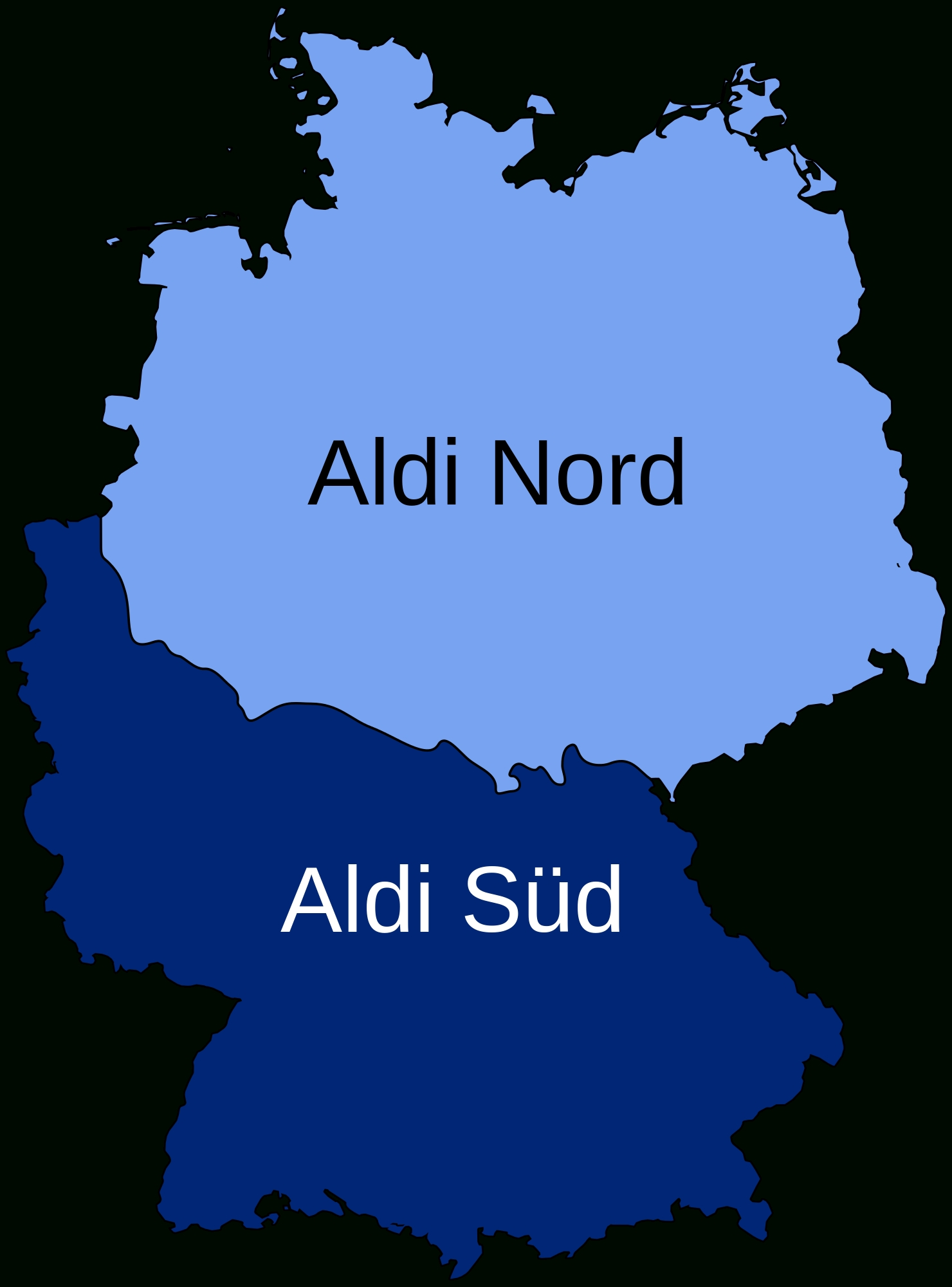 Germany (And The World) Dividedaldi – Brilliant Maps intended for Divided Germany Map