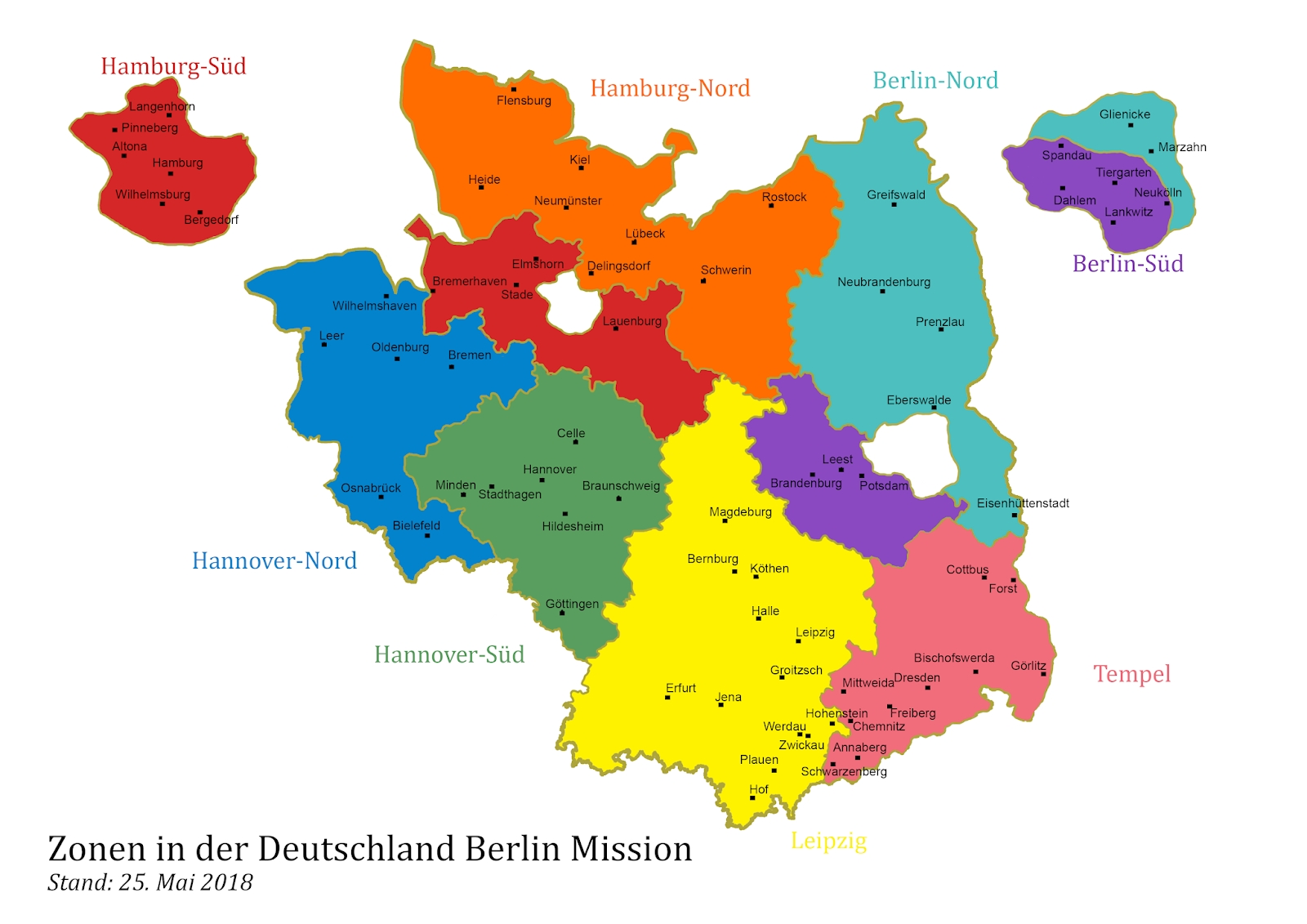 Germany Berlin Mission 2015-2018 throughout Frankfurt Germany Mission Map