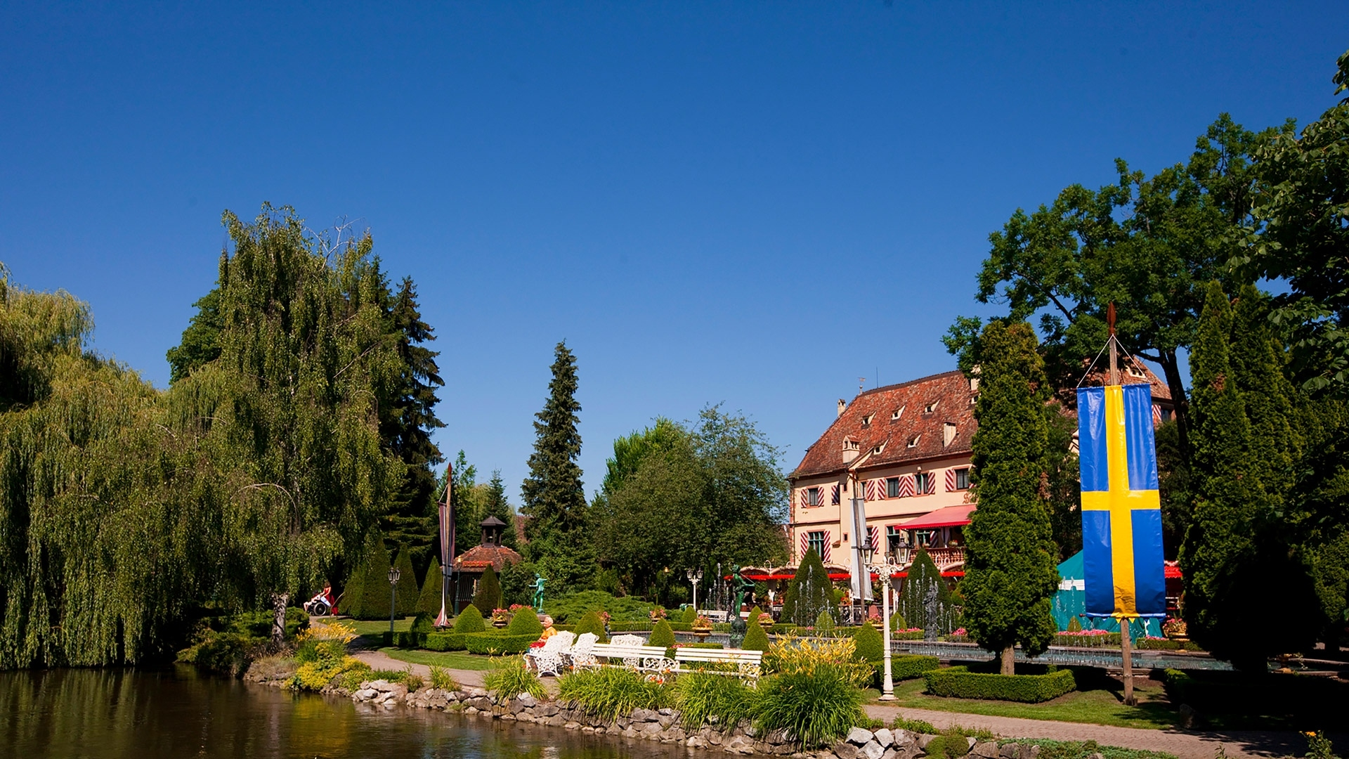 Germany - Europa-Park – One Of The World's Leading Themeparks pertaining to Europa Park Germany Map Location