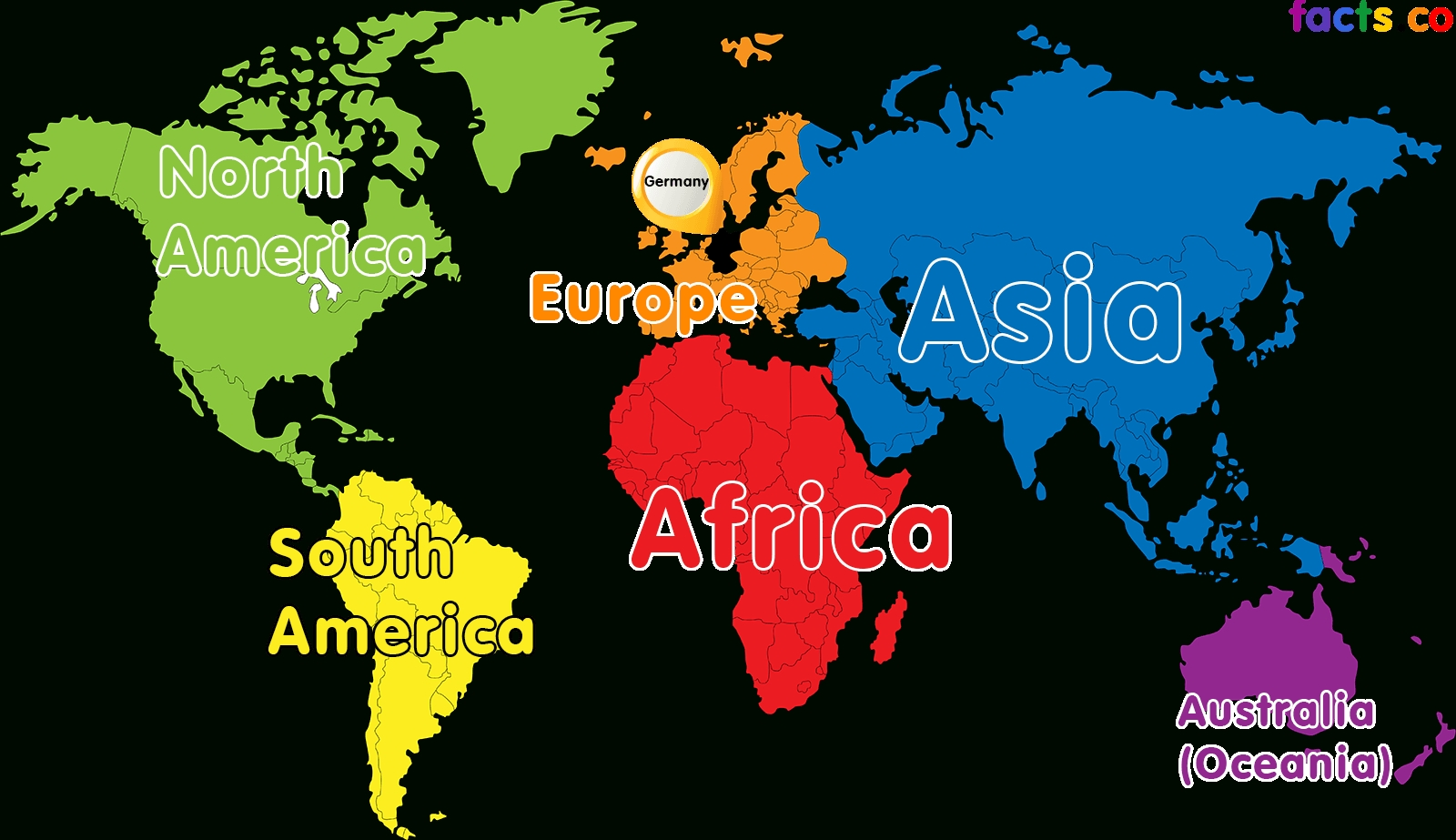 Germany Map Of The World And Travel Information | Download Free with Map Of The World With Germany