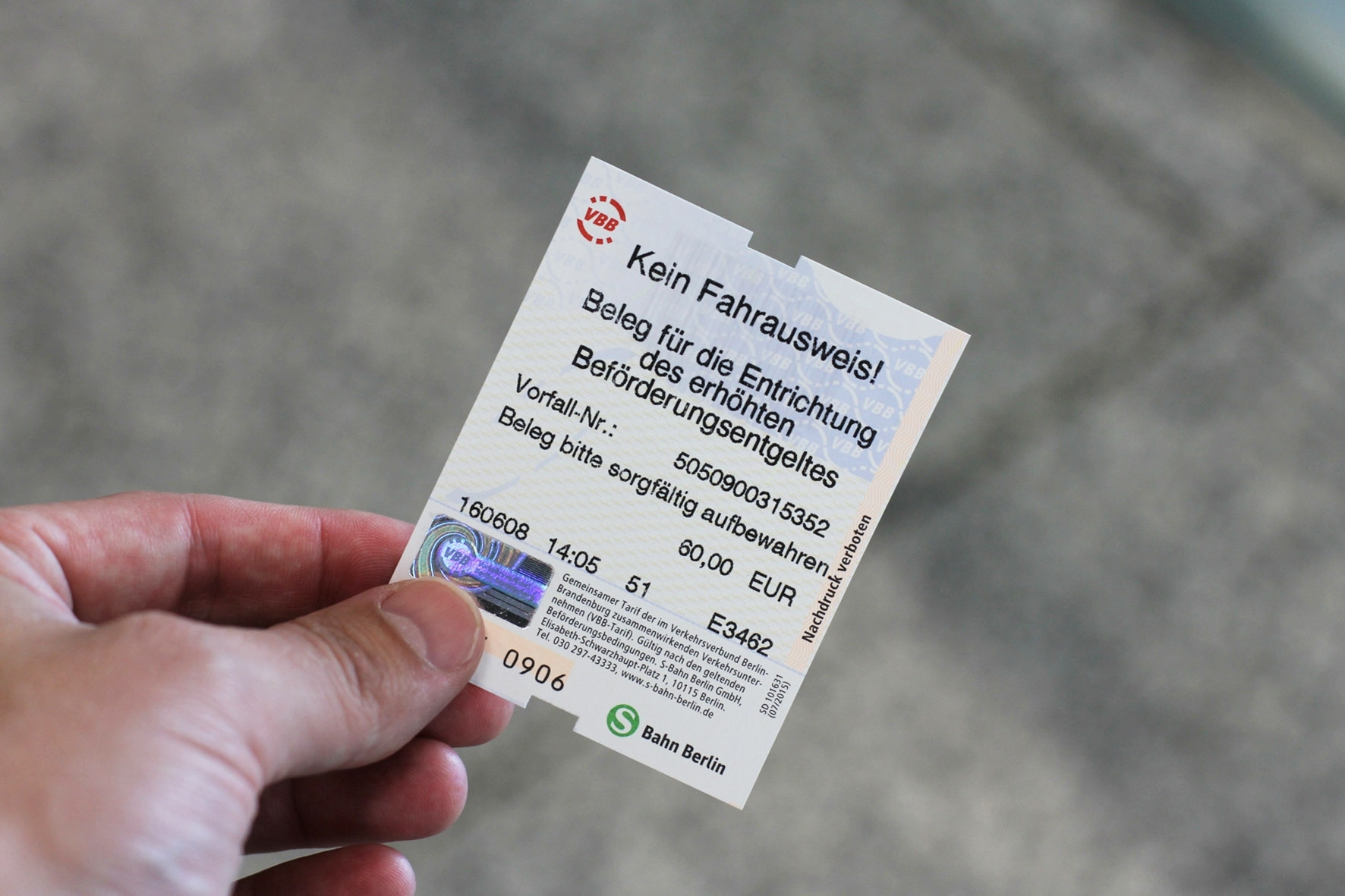 Getting Caught Without A Valid Ticket On Berlin Public Transport And inside Berlin Ticket Bahn