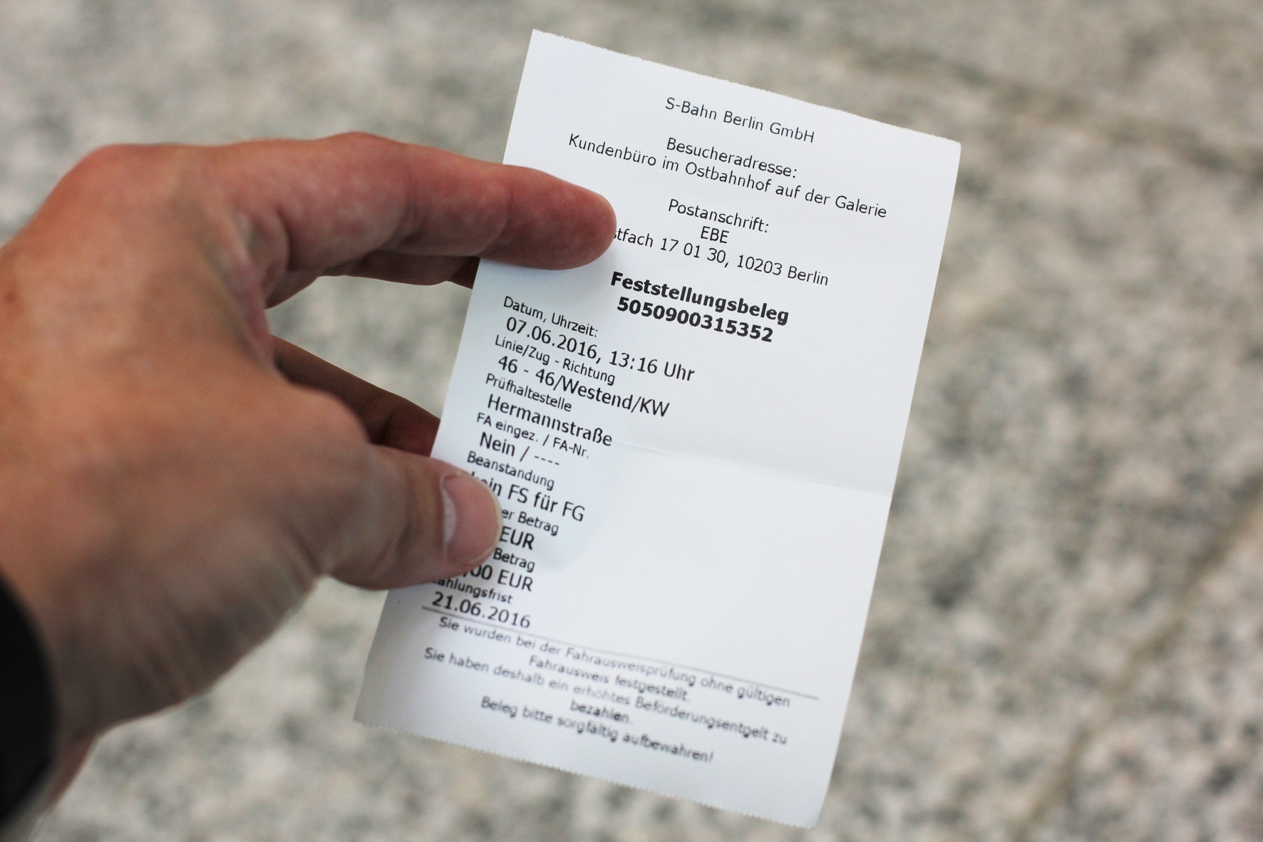 Getting Caught Without A Valid Ticket On Berlin Public Transport And throughout Berlin Ticket Bahn