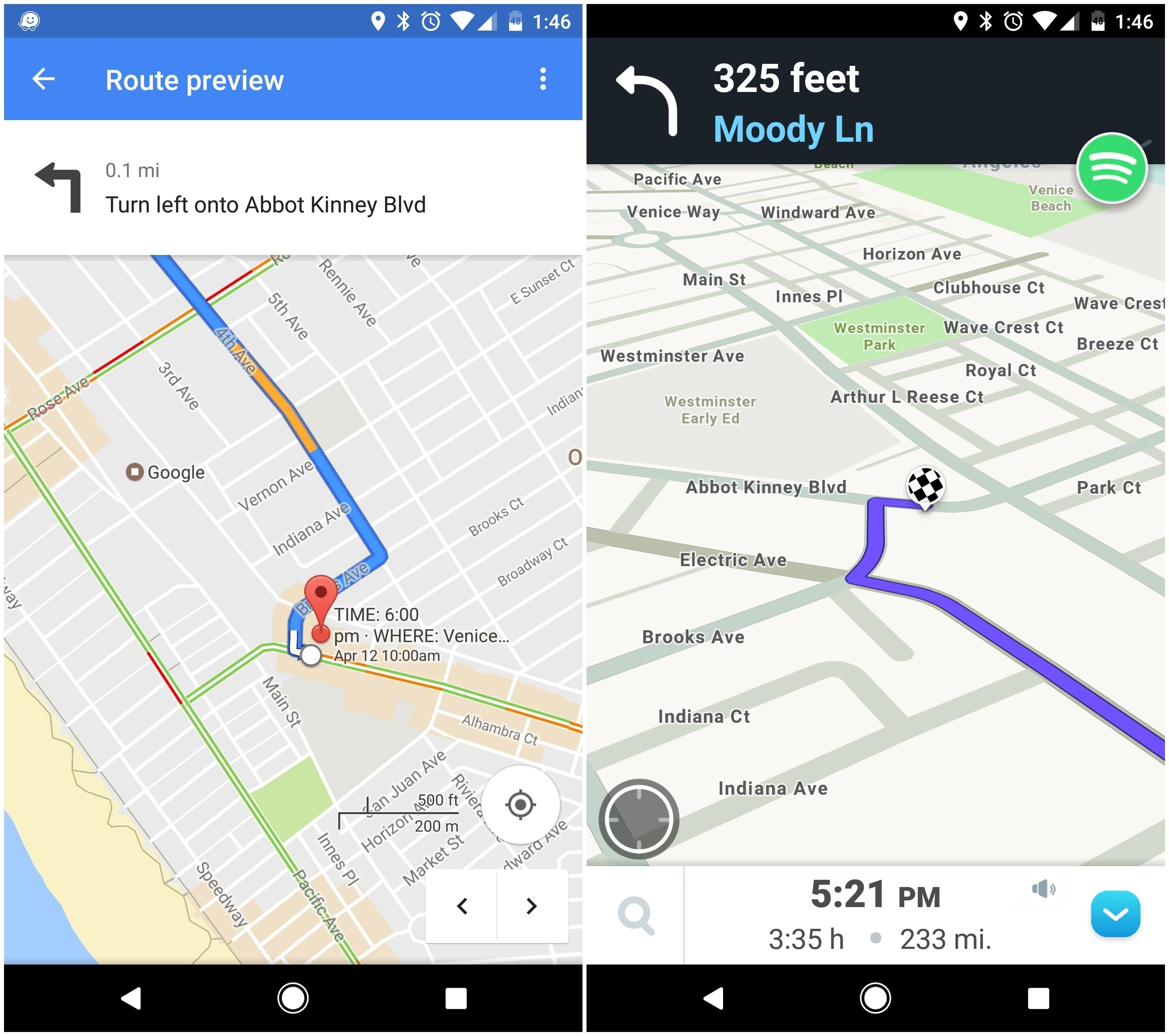 Google Maps Vs. Waze: Which Should Be Your Go-To Map App? | Greenbot in Waze Germany Map Download