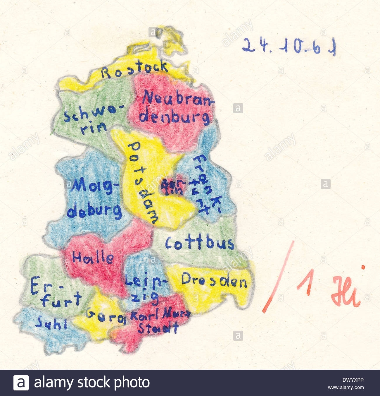 Homework For School, Historical Map Of East Germany With Main Cities with regard to East Germany Map Cities