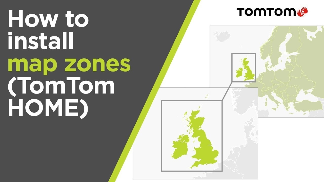 How To Install Map Zones Using Tomtom Home (Europe Map) with regard to Tomtom Germany Map Free Download