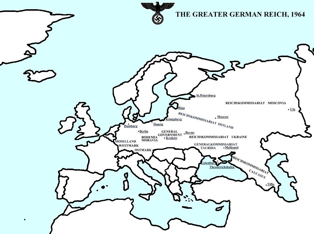 Hypothetical Axis Victory In World War Ii - Wikipedia with Map Of Europe If Germany Won Ww2