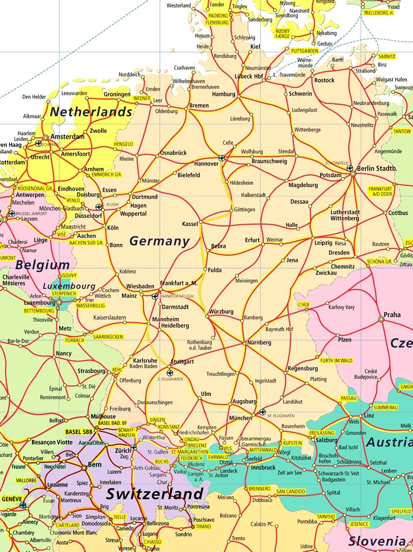 Index Of /images/rail within France Germany Switzerland Map