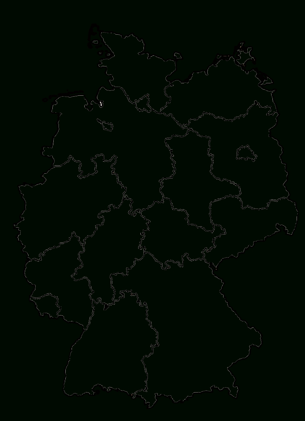 Interview Project Germany throughout Empty Map Of Germany